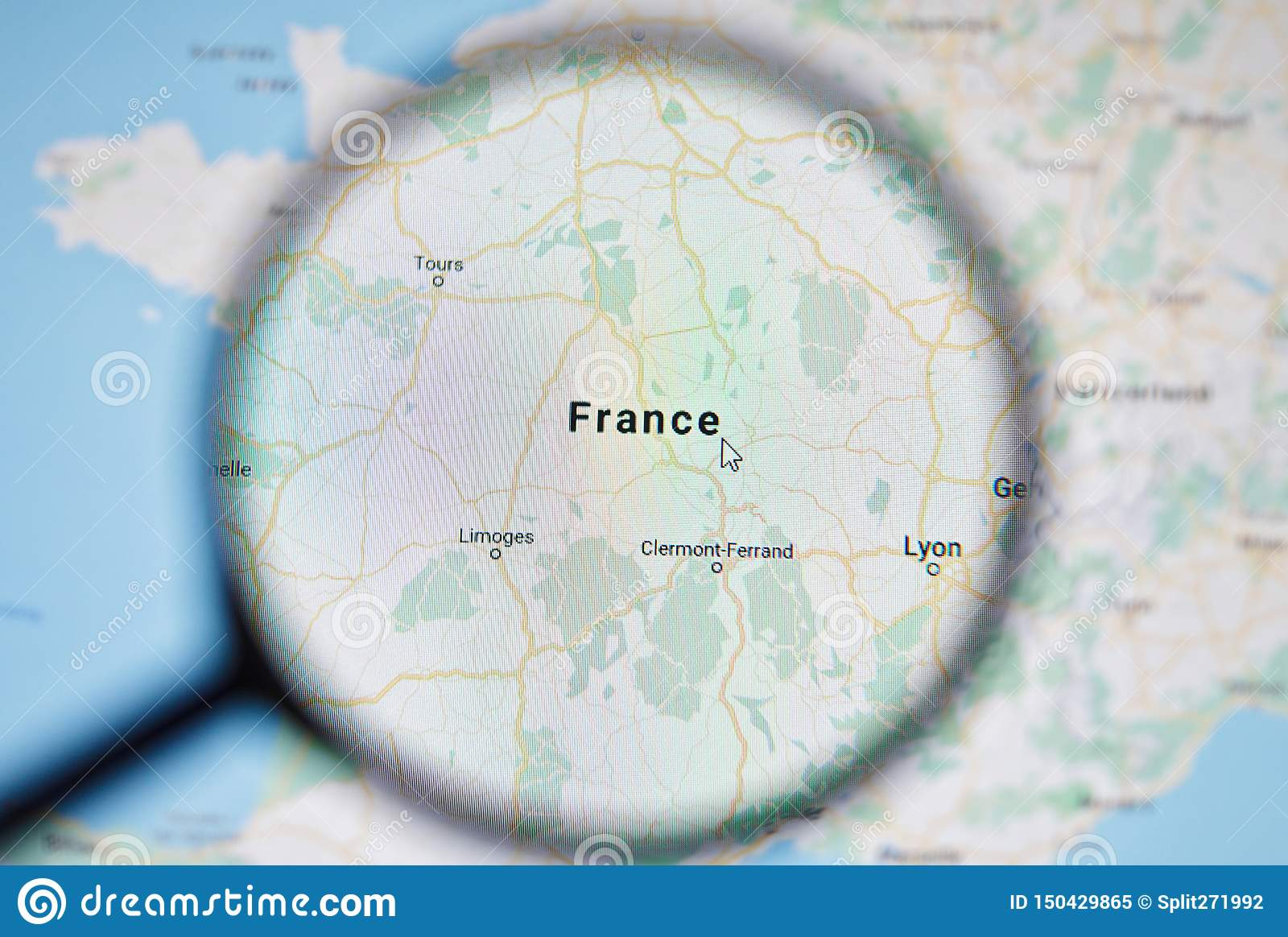 UKRAINE, ODESSA - APRIL 25, 2019: France On Google Maps ... on googlr maps, iphone maps, topographic maps, search maps, aerial maps, online maps, googie maps, bing maps, ipad maps, road map usa states maps, aeronautical maps, waze maps, stanford university maps, goolge maps, amazon fire phone maps, gogole maps, microsoft maps, msn maps, gppgle maps, android maps,