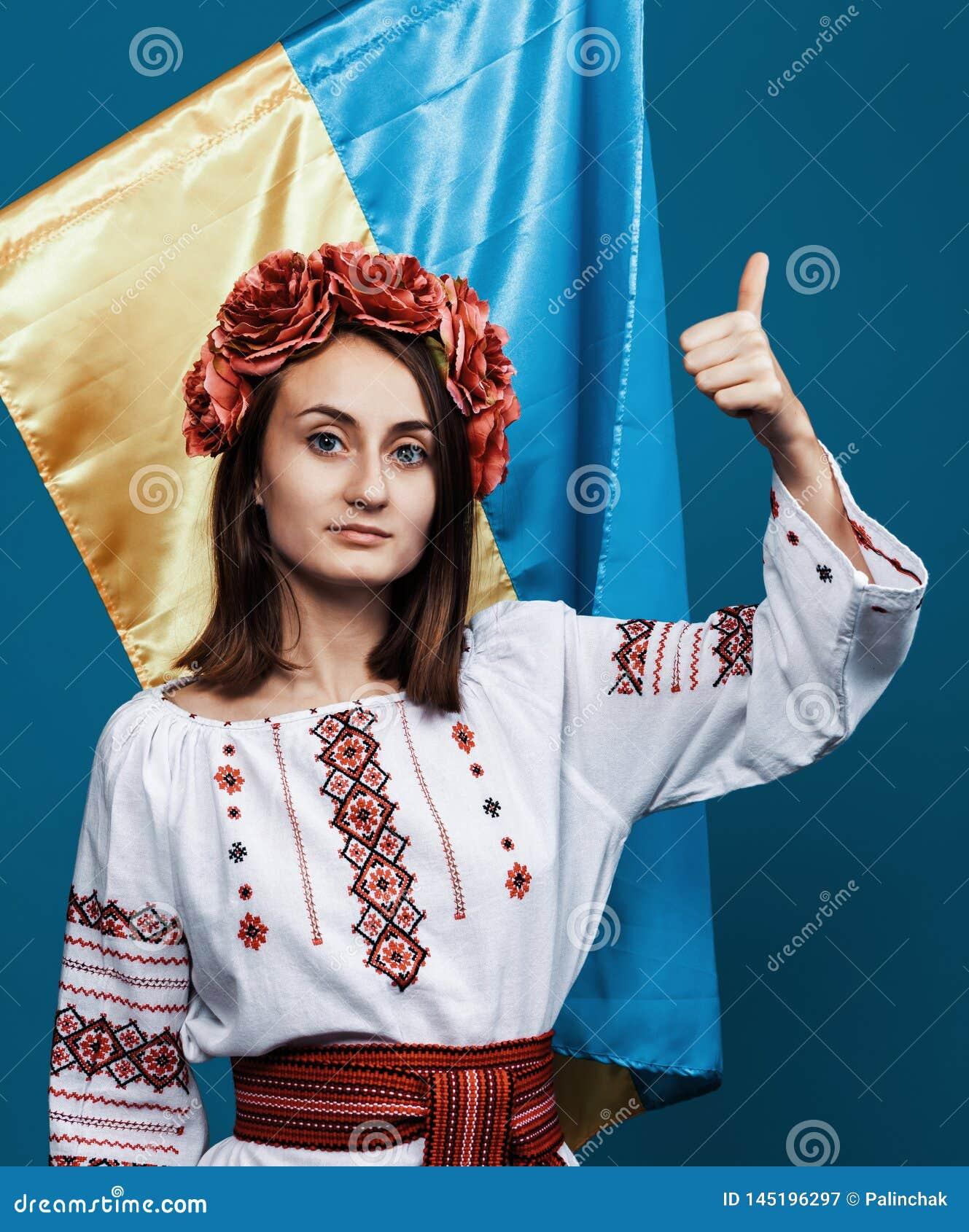 Ukraine patriotic concept