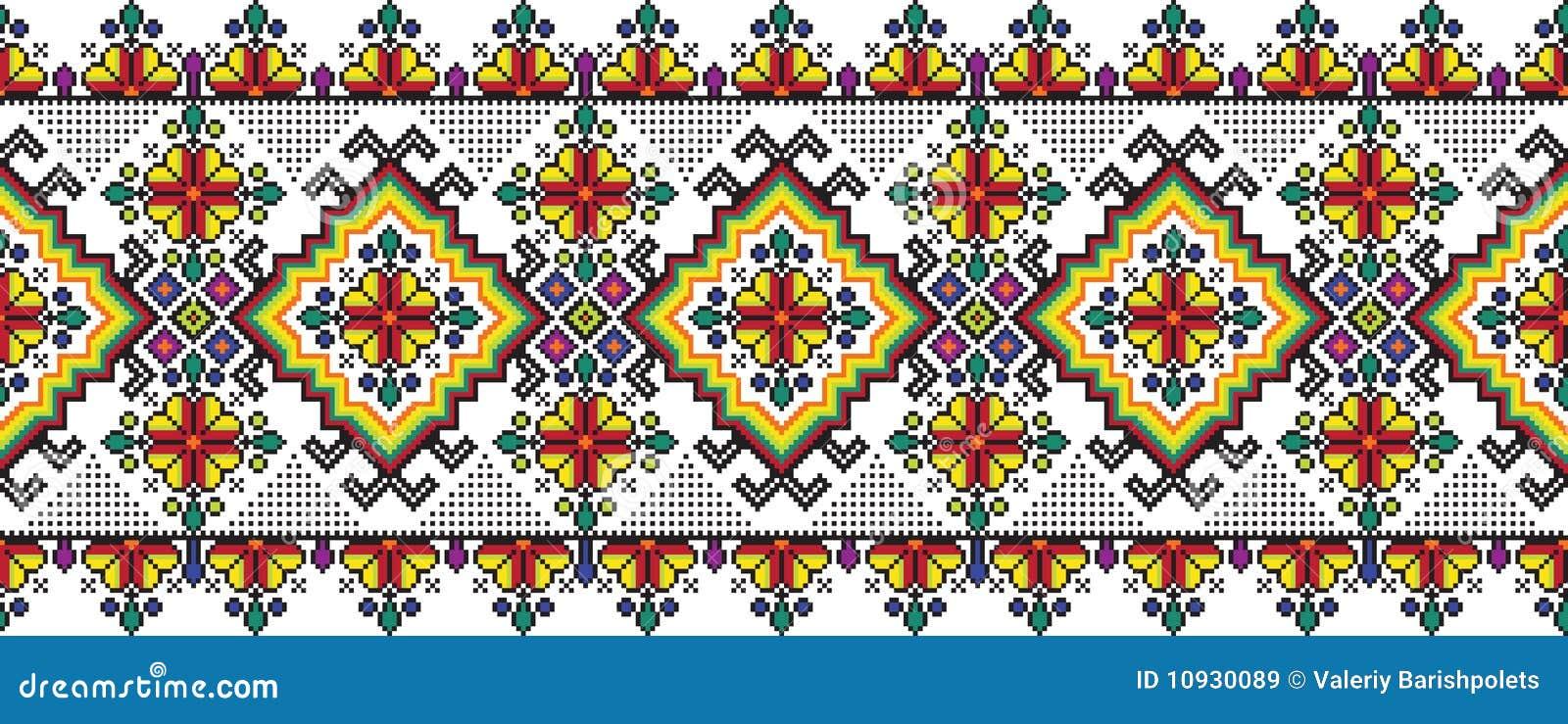 Ukrainian орнамента