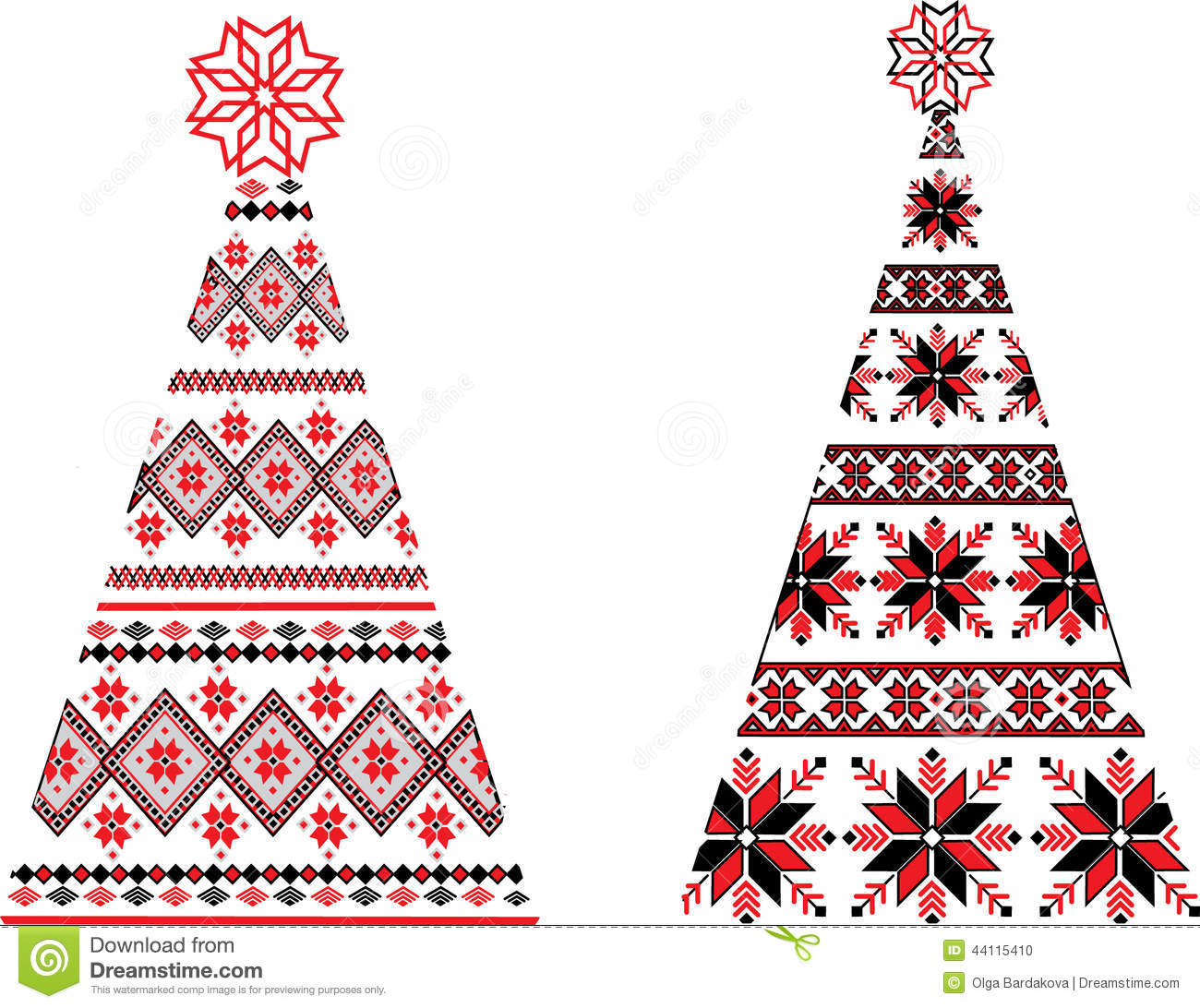 Ukrainian christmas stock illustrations 394 ukrainian christmas ukrainian christmas trees clip art ukrainian christmas trees vector illustration m4hsunfo