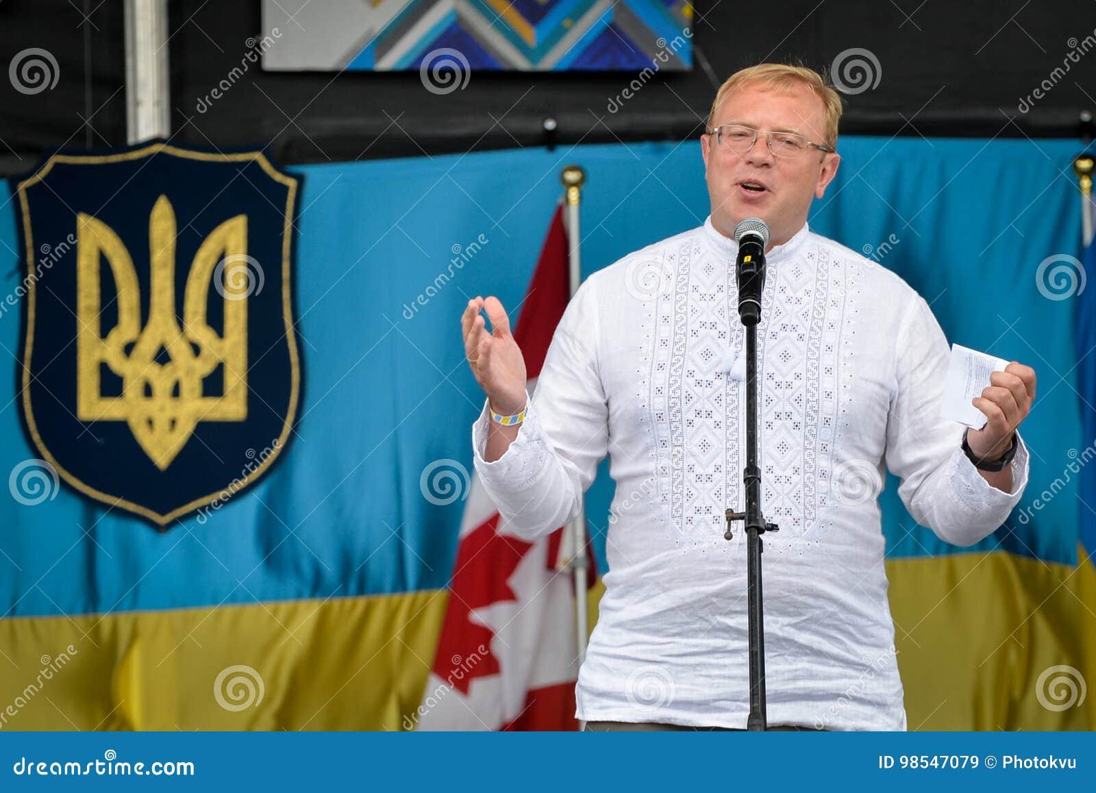 Ukrainian Independence Day In Toronto Editorial Stock Image - Image