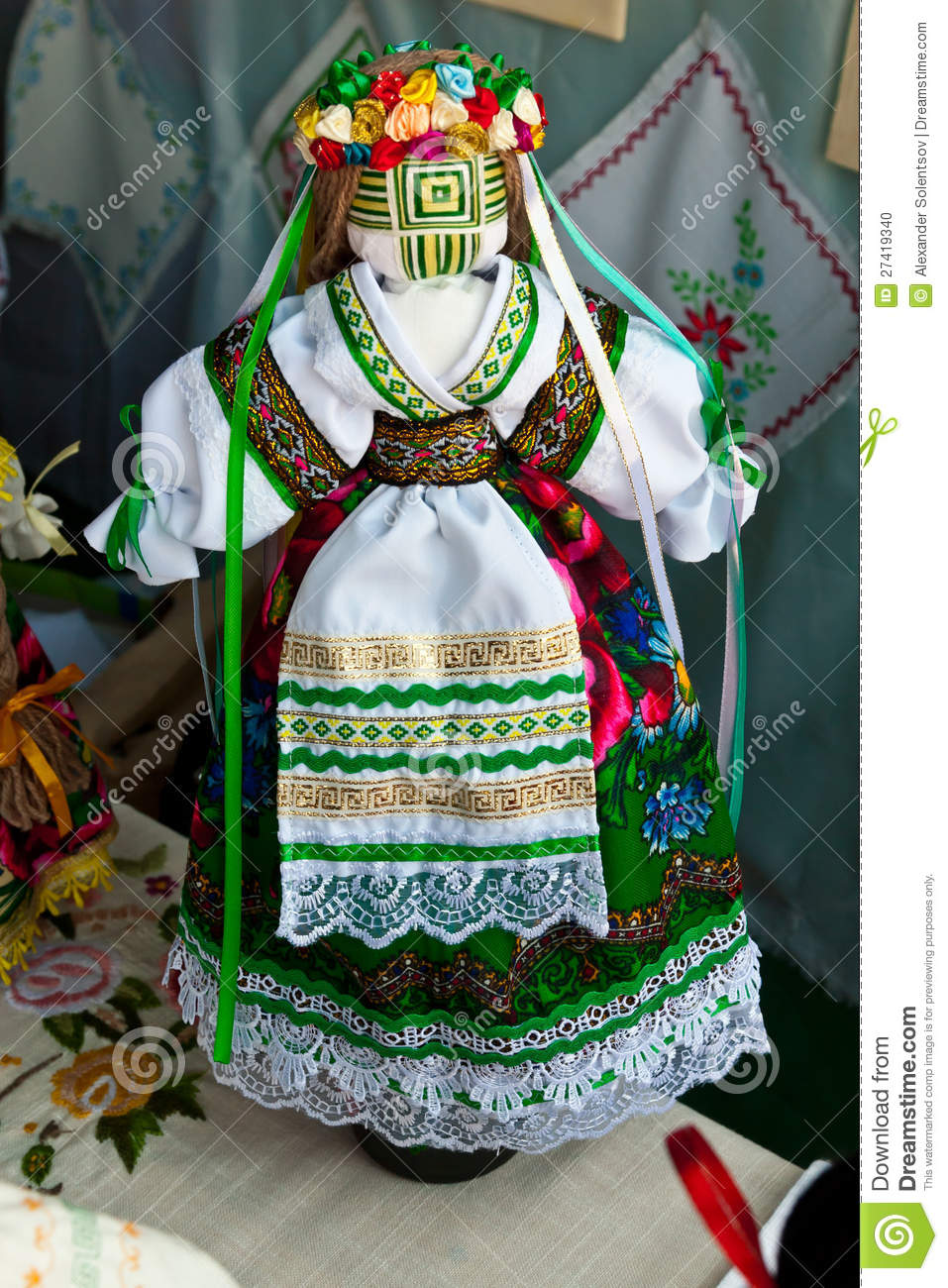 Ukrainian national doll
