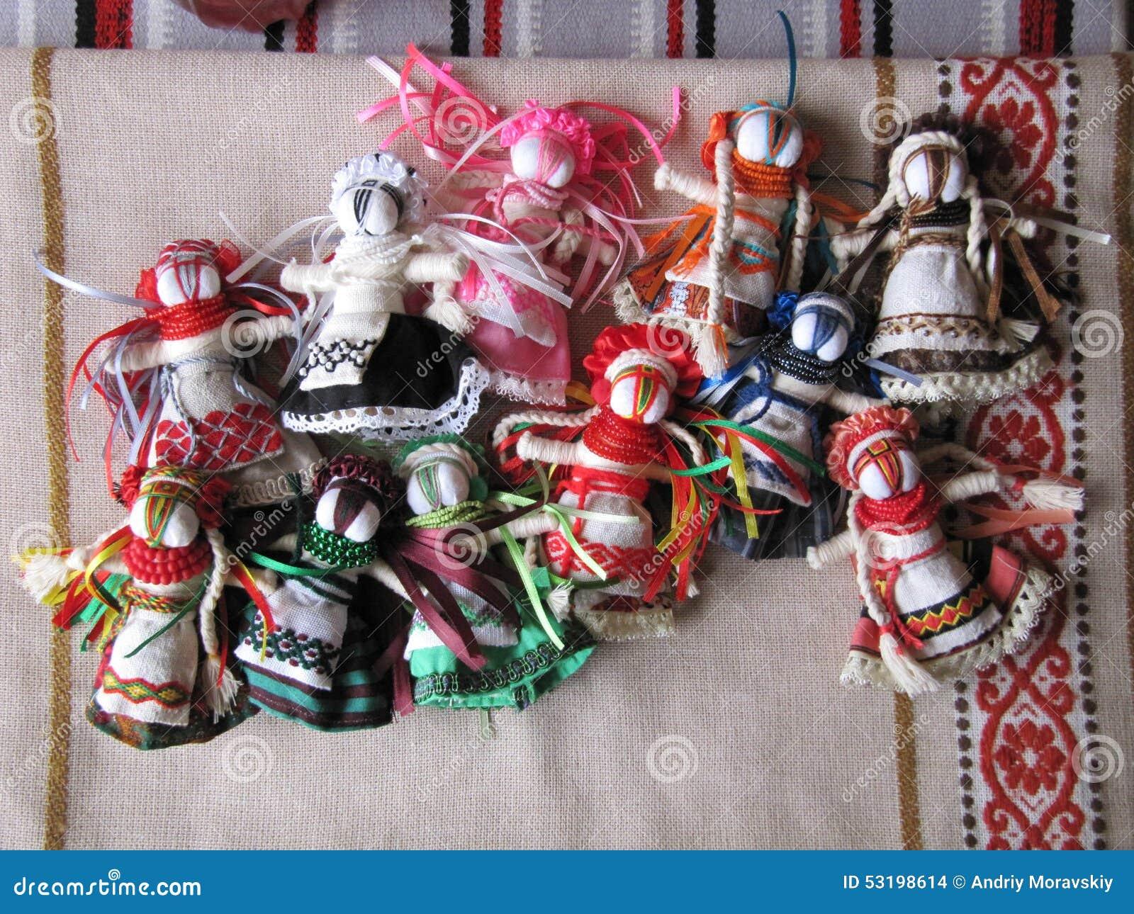 Ukrainsk handgjord folk docka