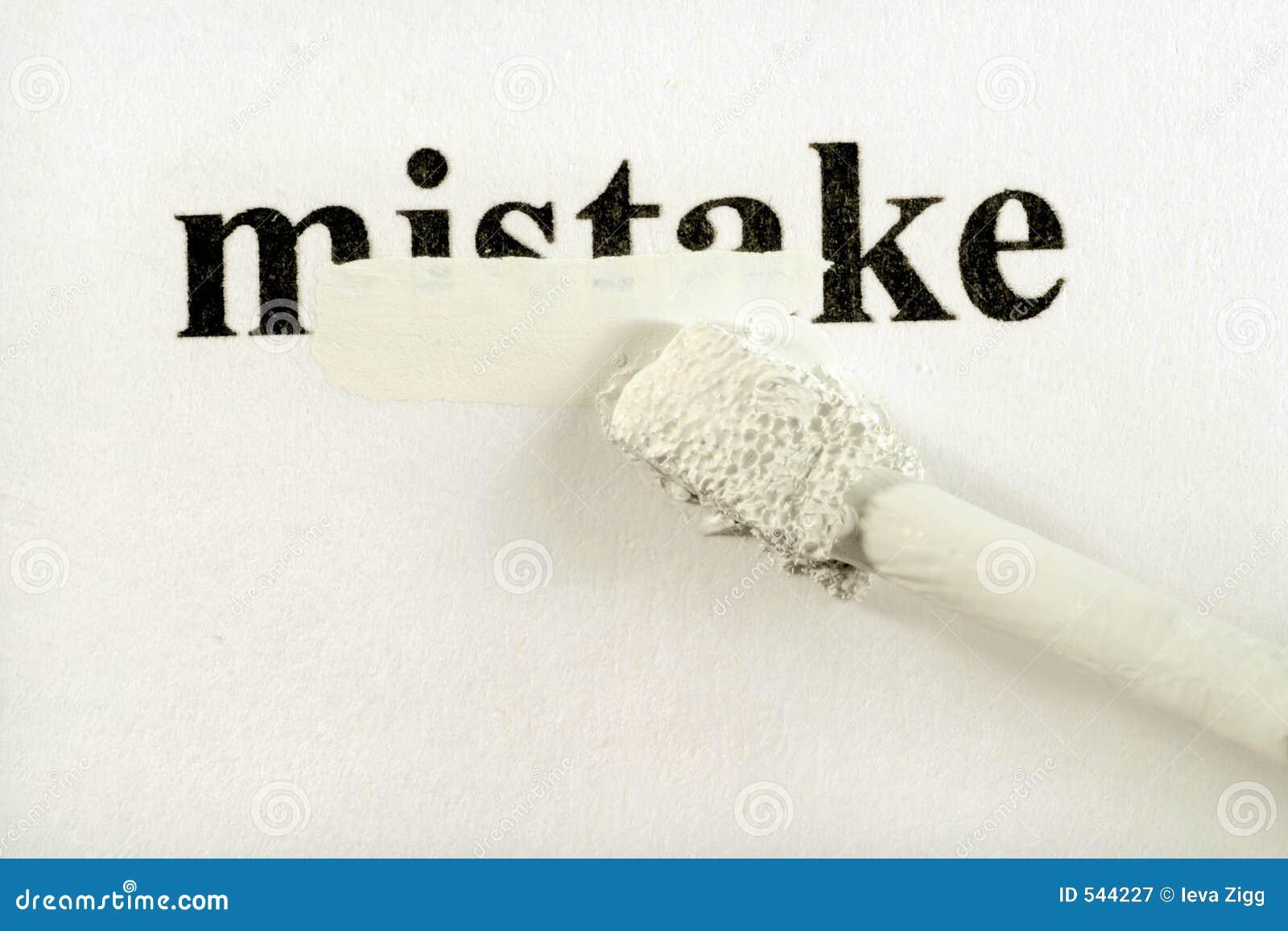 Ukryć błędów