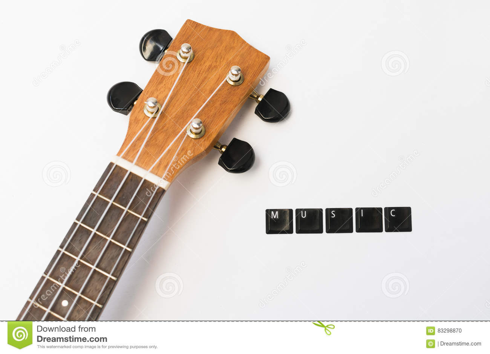 Ukulele liebt Musik lokalisierten Hintergrund