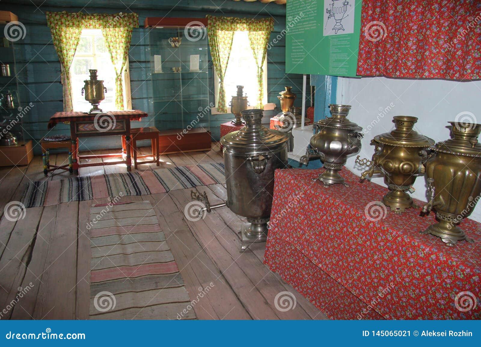 Ul?n Ud?, Buriatia, Rusia, el 12 de abril de 2014 Museo etnogr?fico de la poblaci?n de Transbaikalia