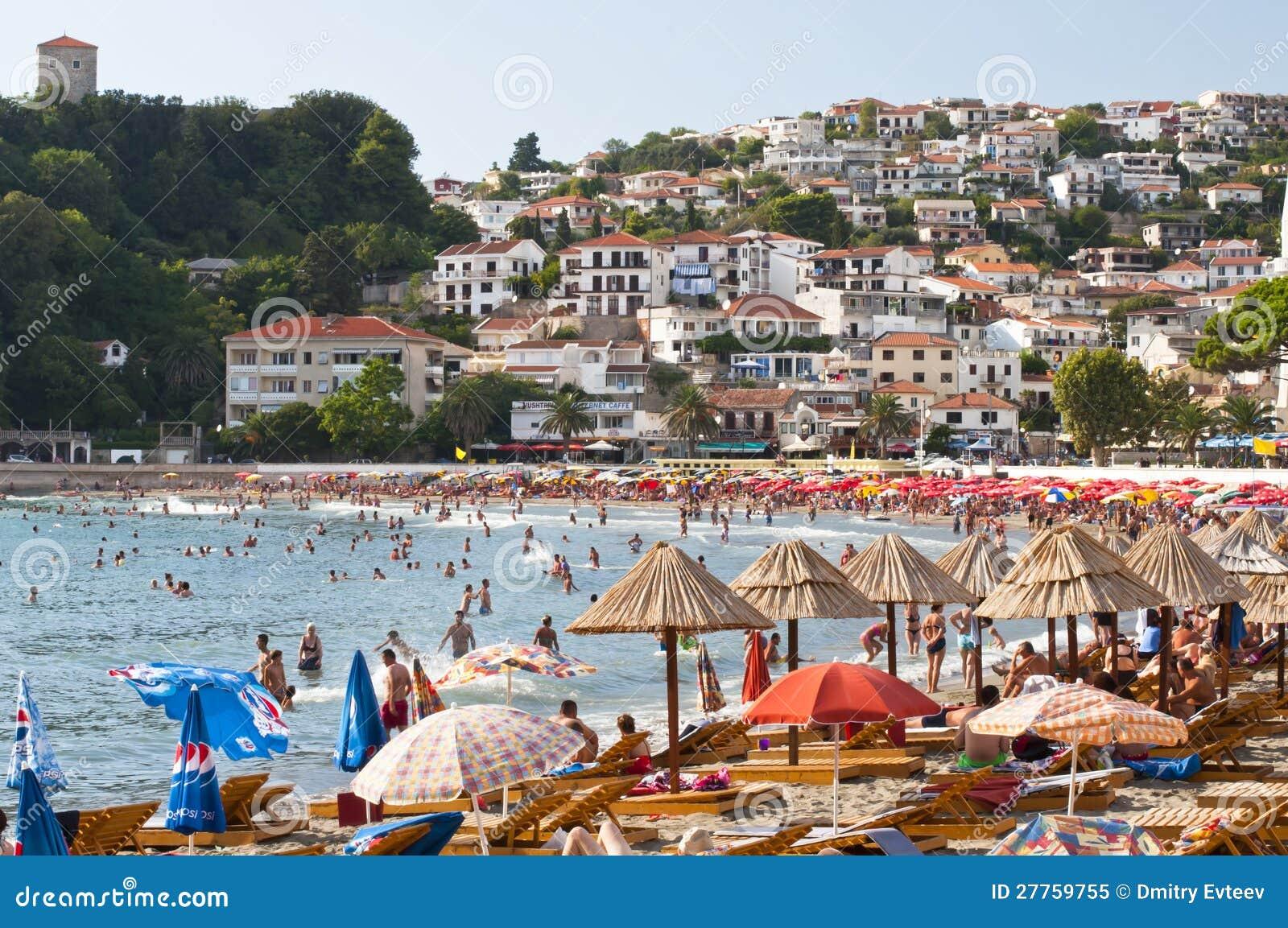 Ulcinj town beach