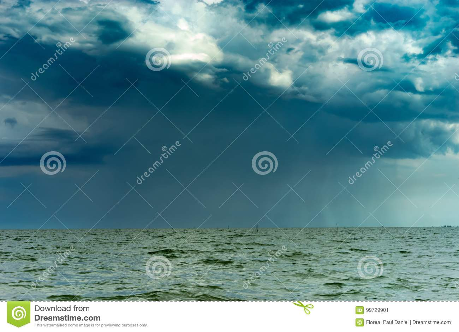 Ulewa jeziorem
