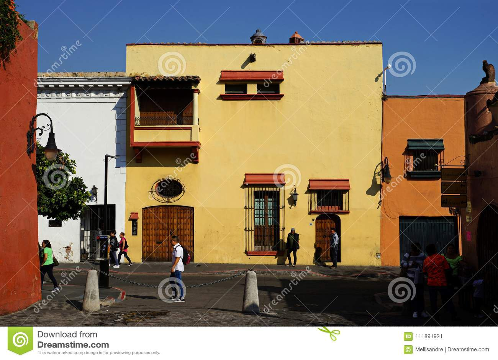 Ulica w Cuernavaca, Meksyk