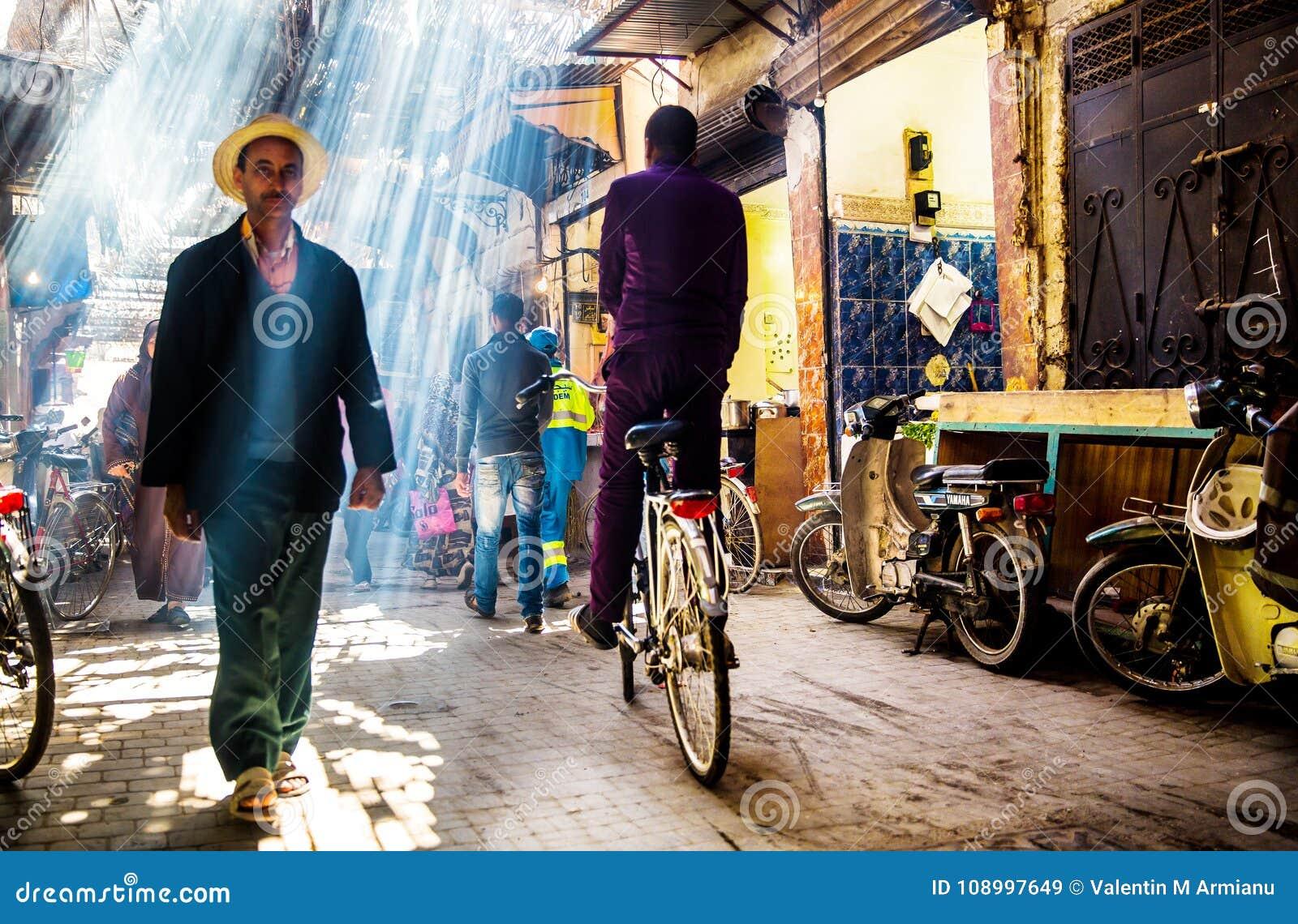 Ulica w Marrakech