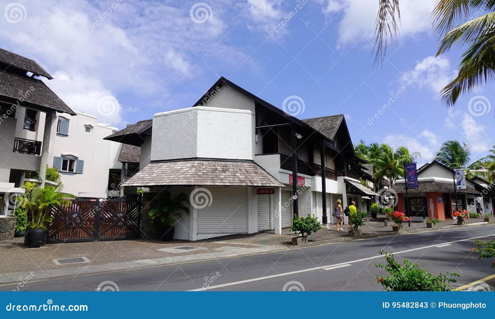 Ulica w Portowym Louis, Mauritius