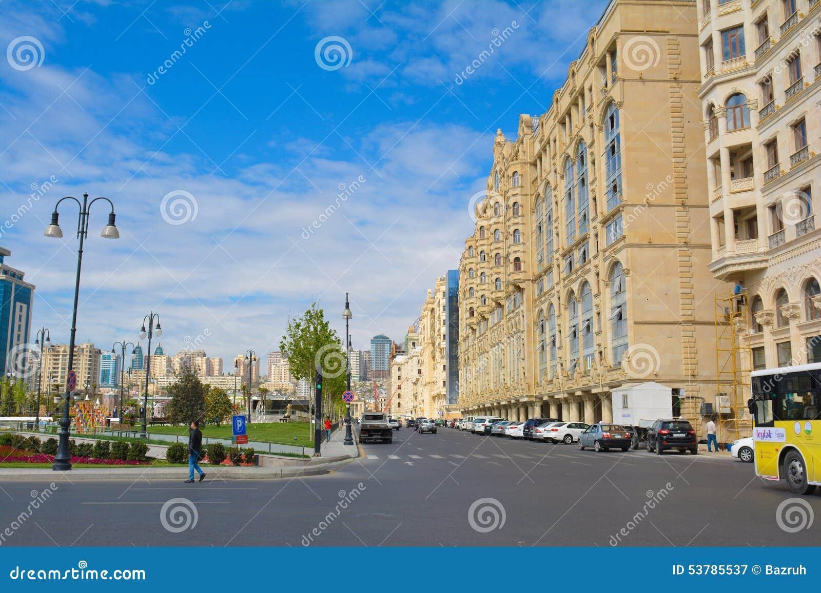 Ulicy Baku miasto, Fizuli ulica