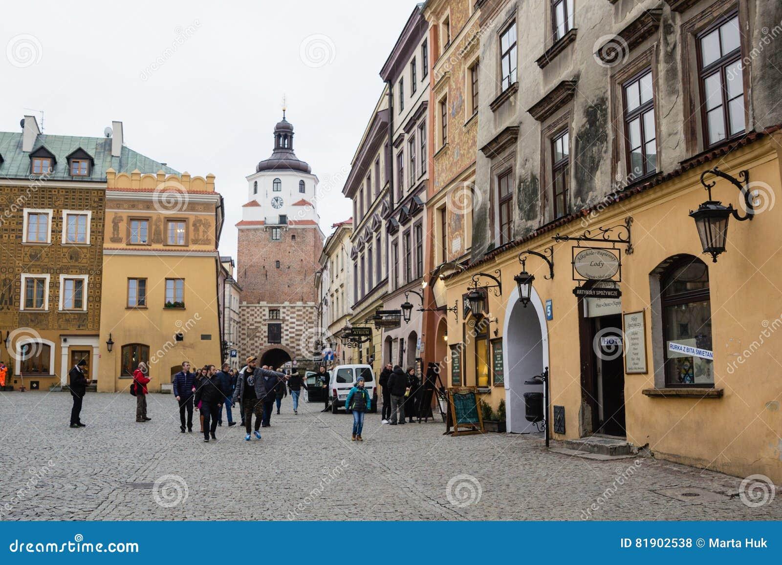 Ulicy Lublin stary miasteczko
