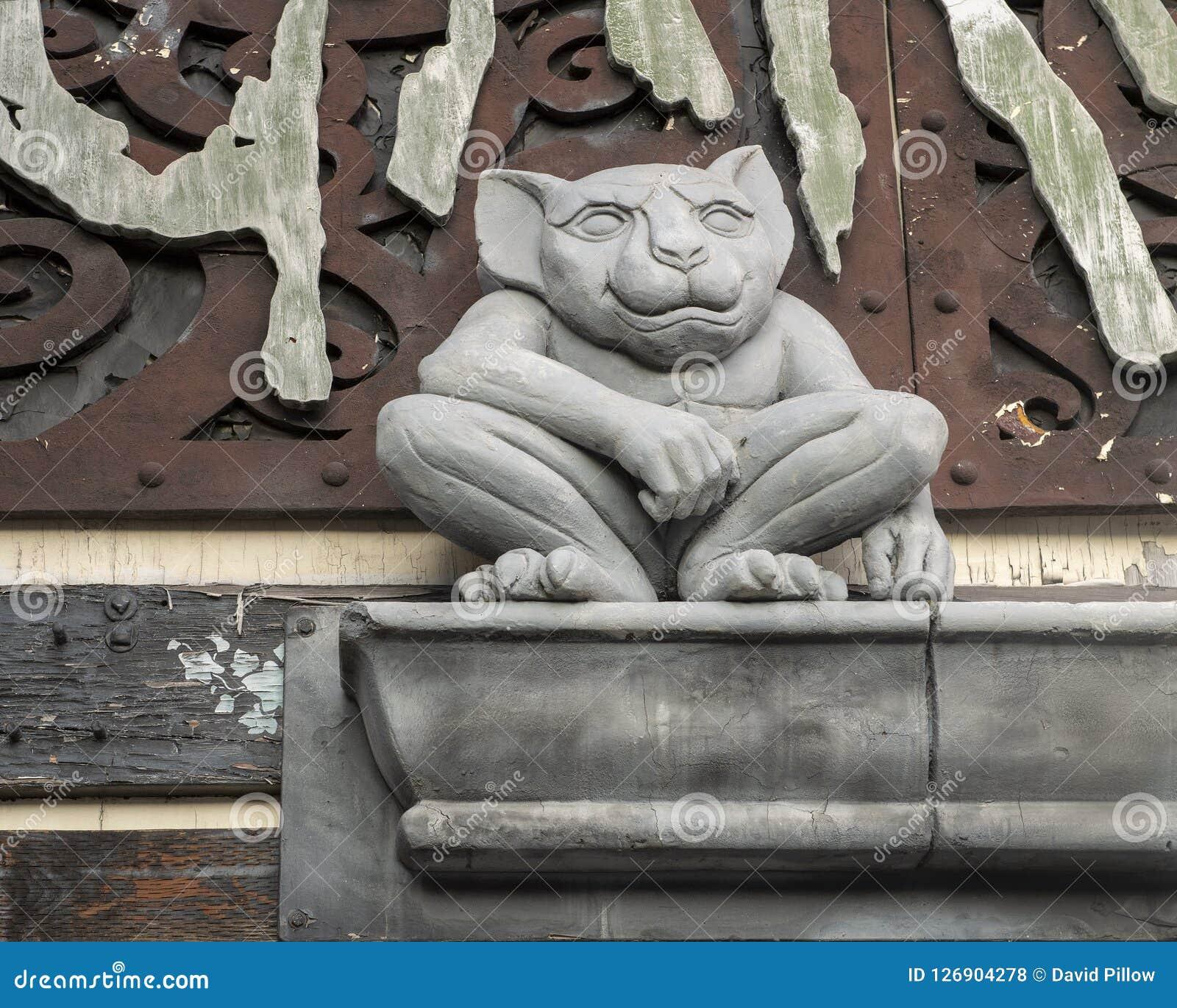 Uliczna rzeźba, Seattle Waszyngton, Stany Zjednoczone Ameryka