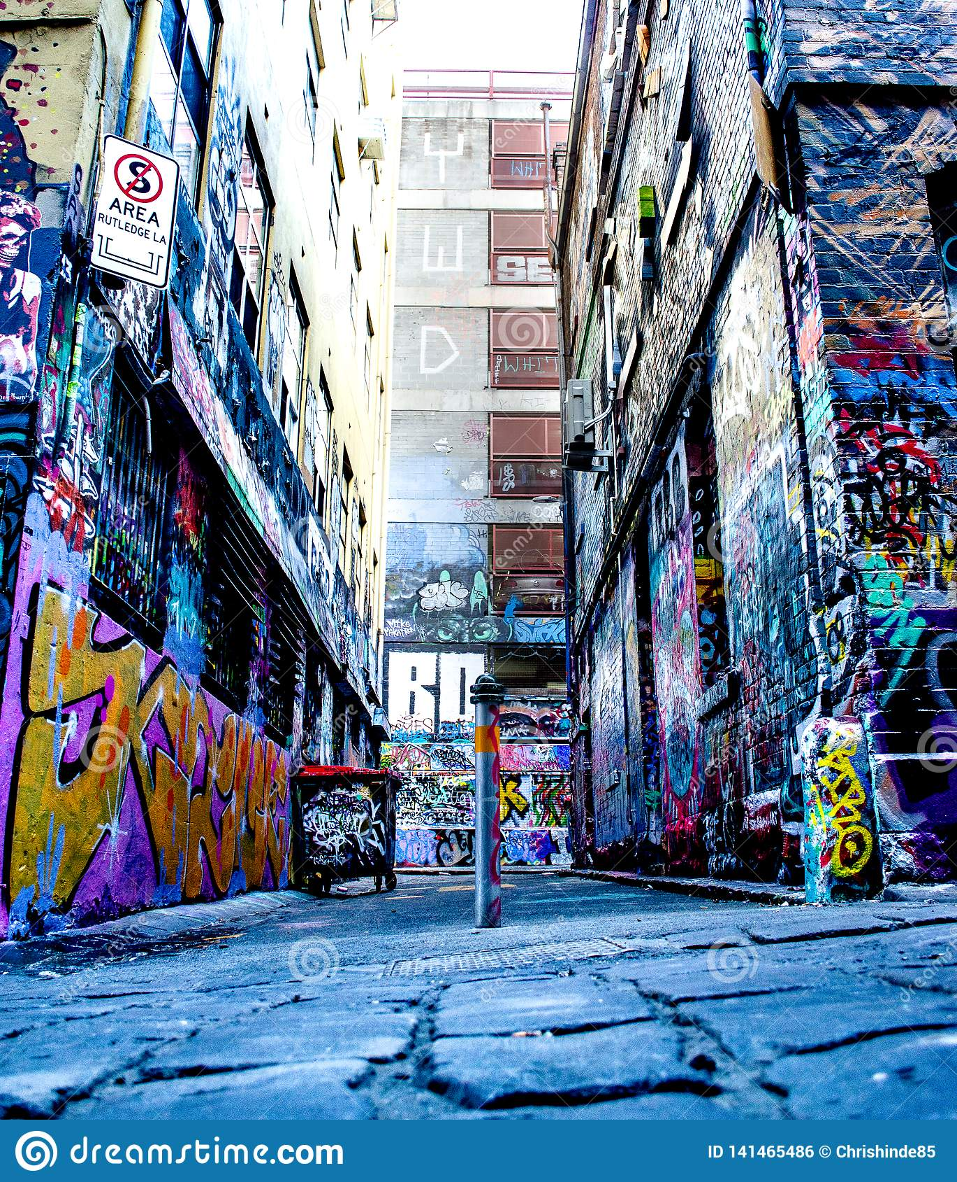 Uliczna sztuka Melbourne