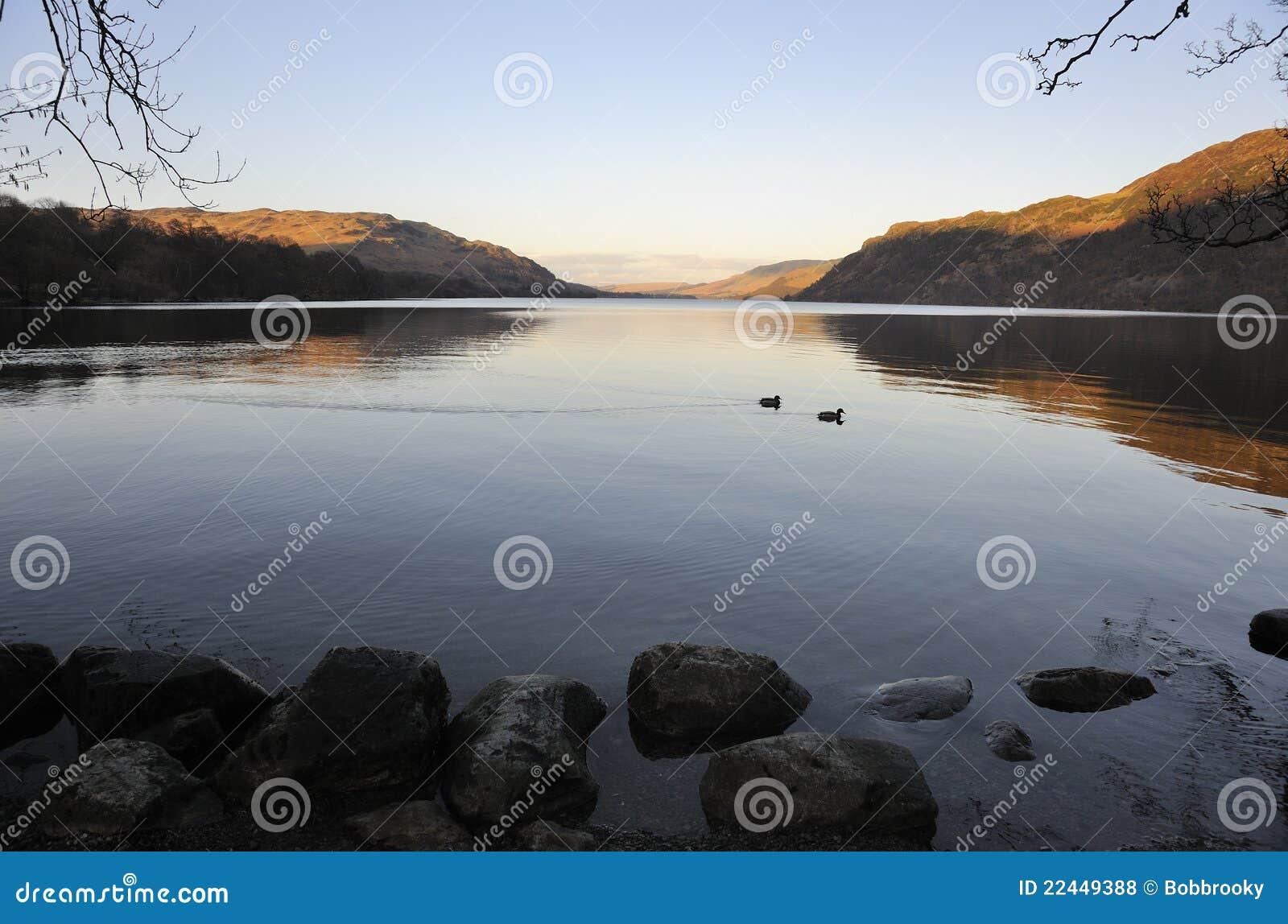 Ullswater Dämmerung