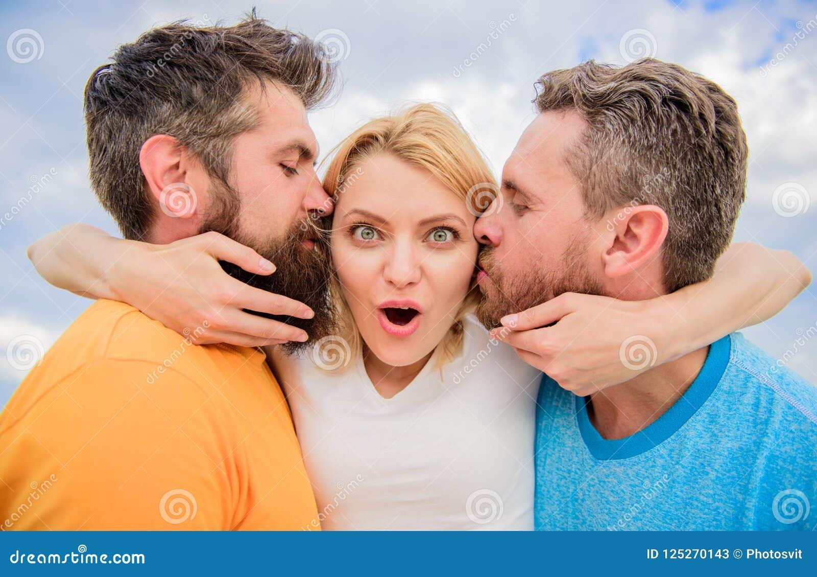 Ultimate Guide Avoiding Friend Zone  Men Kiss Same Girl
