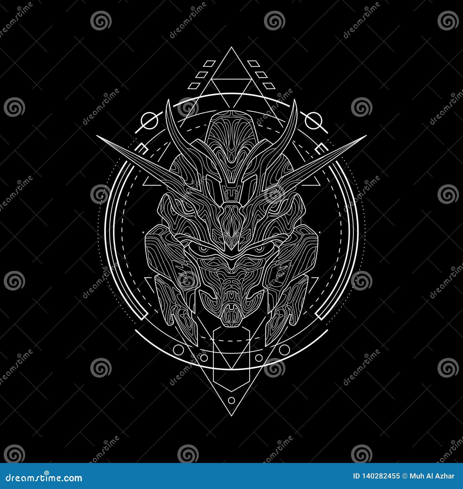 Ultimo cavaliere Geometry Style del ferro