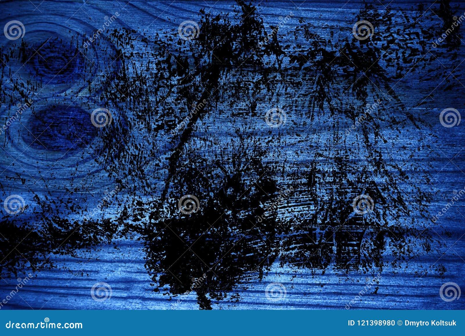 Ultra blauwe Houten textuur, scherpe raadsoppervlakte voor ontwerpelementen