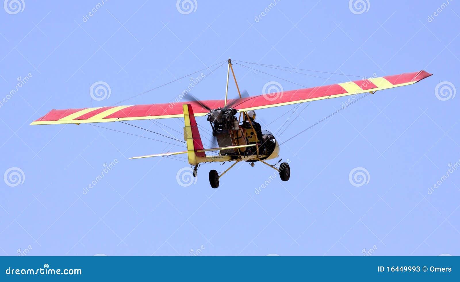 Ultra licht vliegtuig