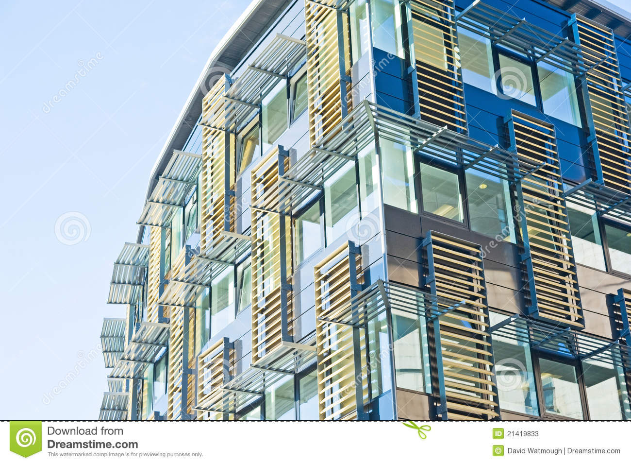 Ultra modern building advanced design stock photos for Ultra modern building design