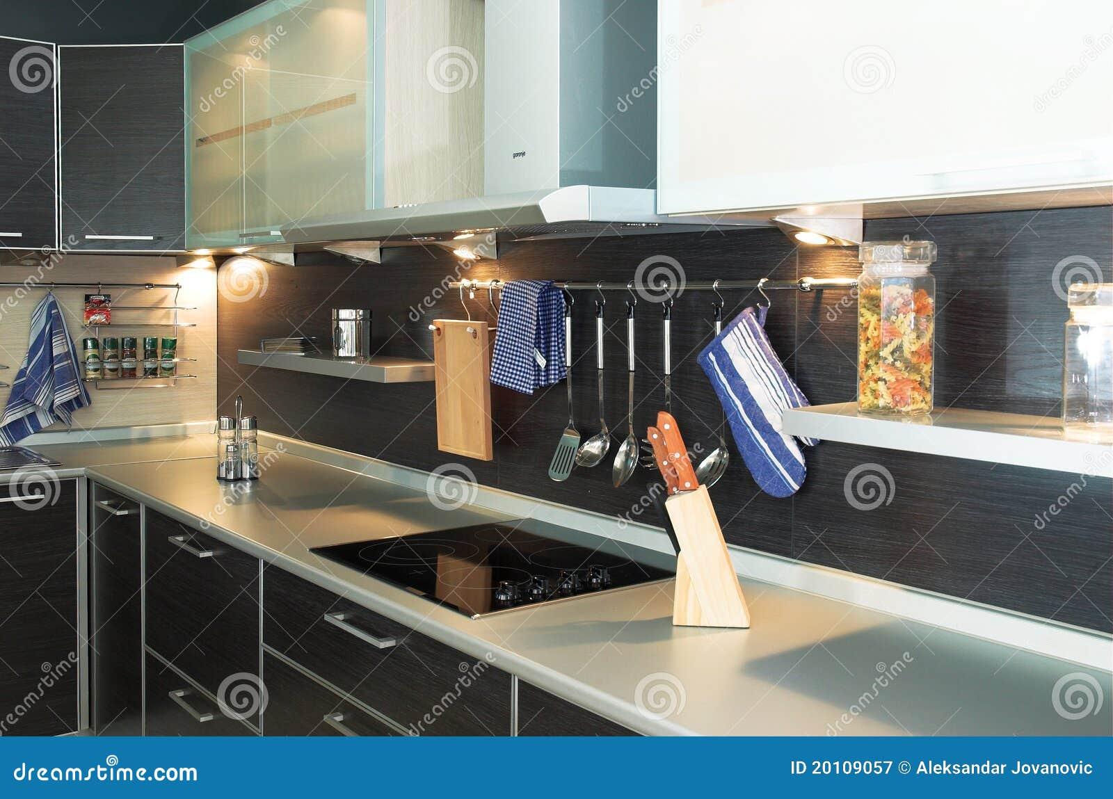 ultra moderne keuken royaltyvrije stock fotografie  afbeelding, Meubels Ideeën