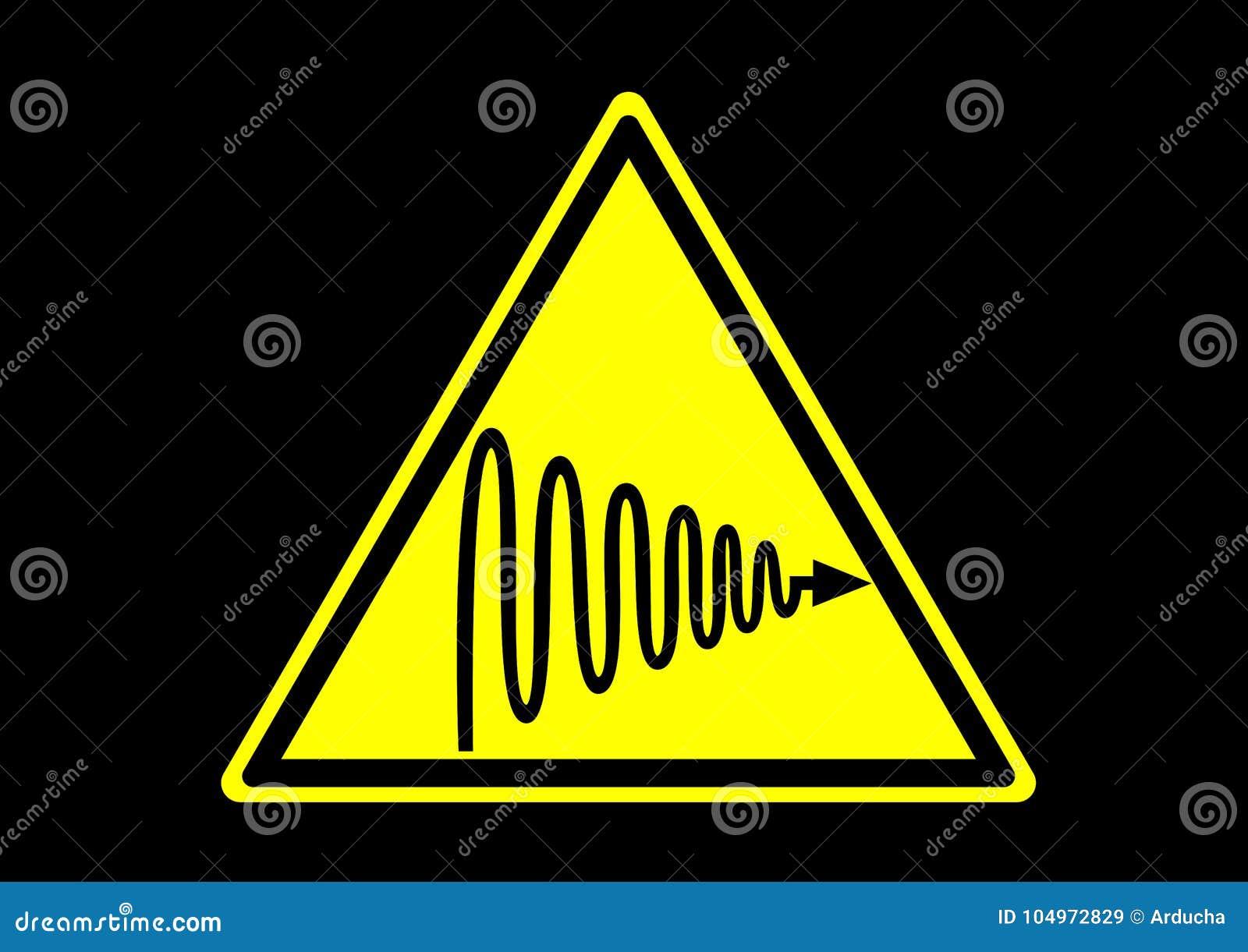 Ultraviolet Light Warning Area Signs Label For Emergency