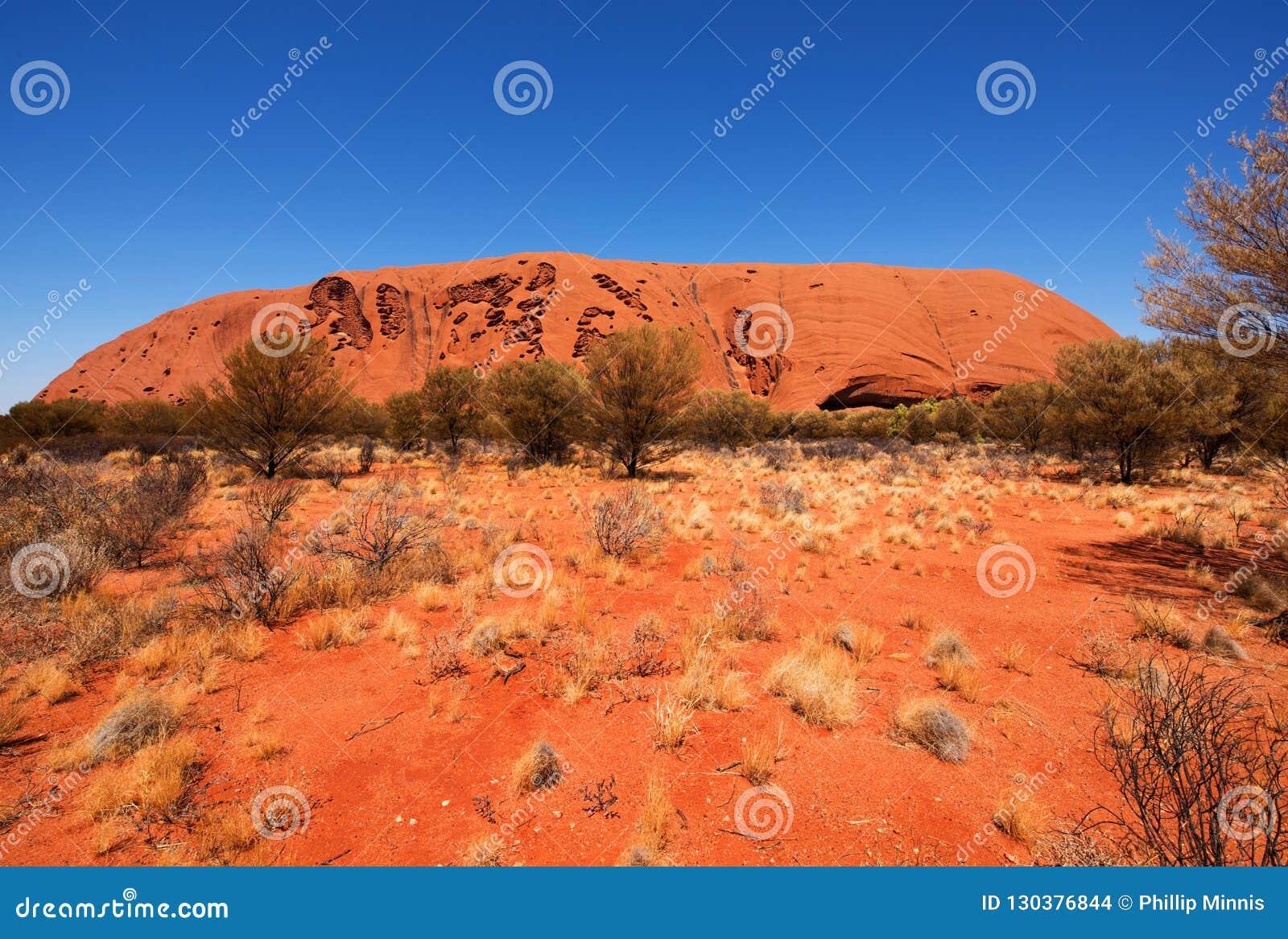 Uluru Ayers skała, terytorium północne, Australia