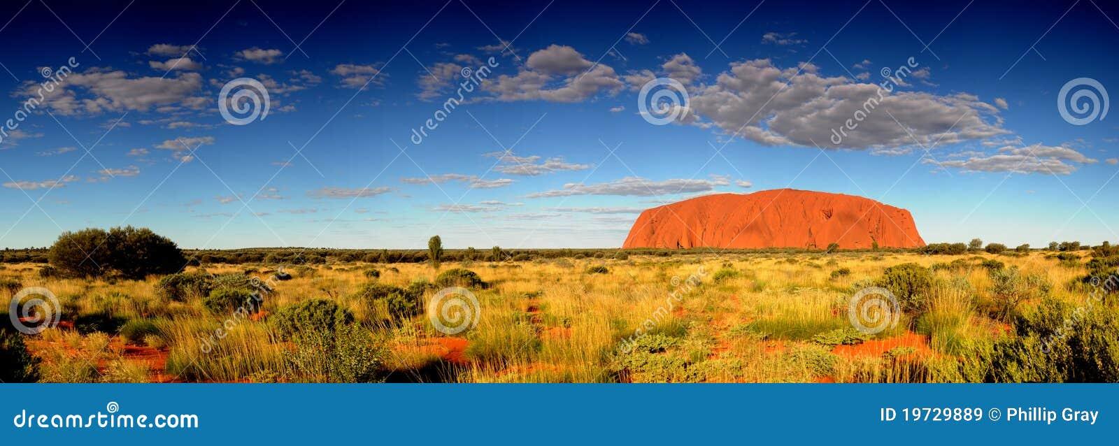 Uluru för ayres panoramarock