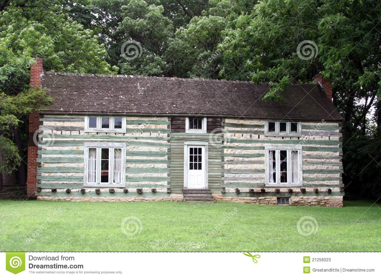 Ulysses S Grant 39 S Cabin Editorial Stock Photo Image