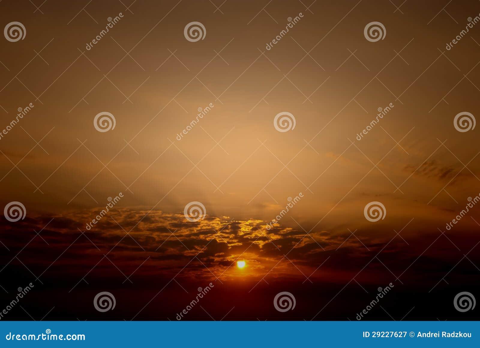 Download Um alvorecer novo imagem de stock. Imagem de panoramic - 29227627