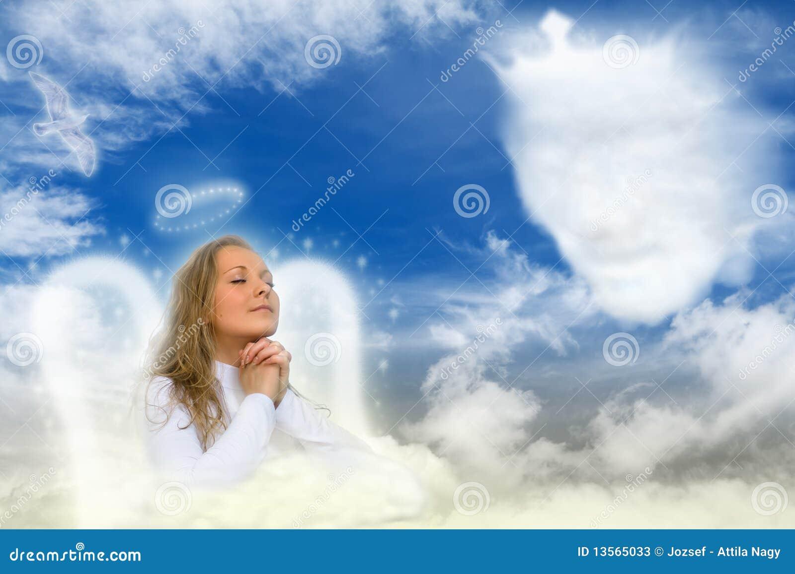 Um anjo que Praying
