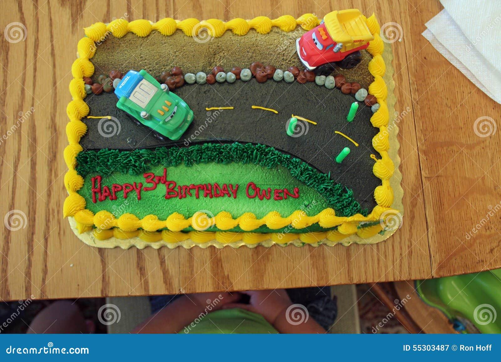 Um bolo de aniversário