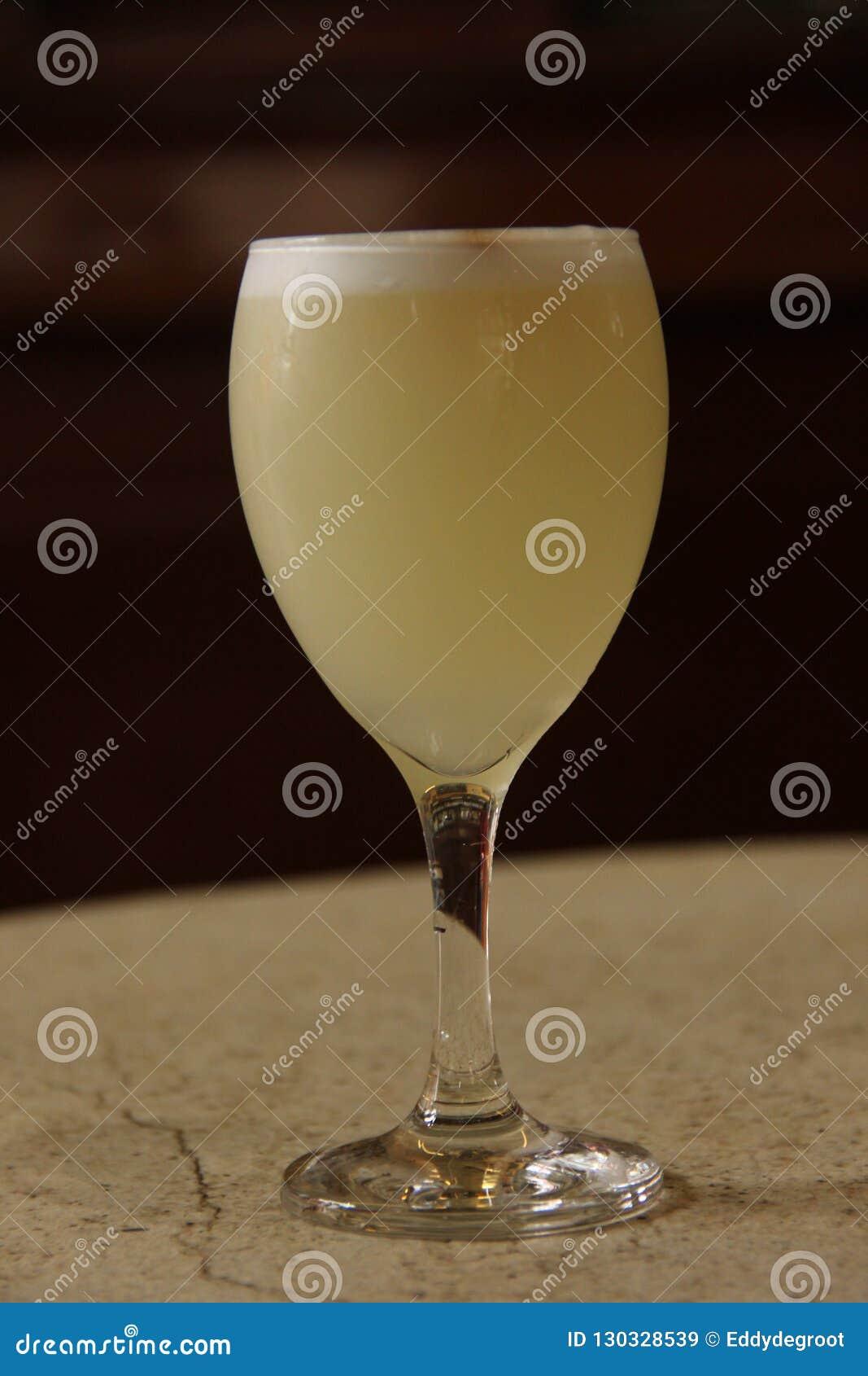 Um cocktail ácido delicioso de Pisco