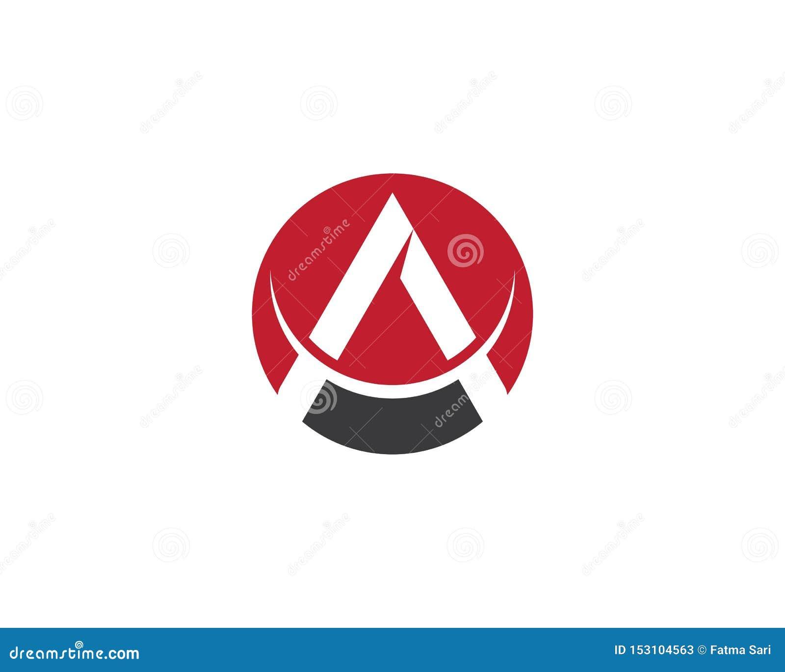 Um ?cone do vetor do logotipo da letra