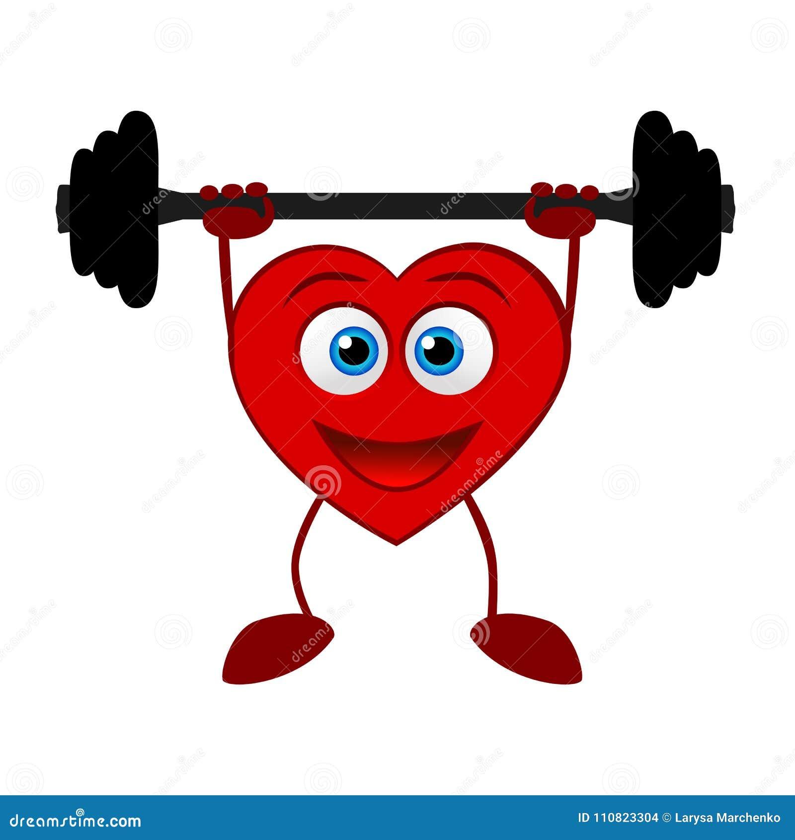 Um coração Estilo de vida saudável