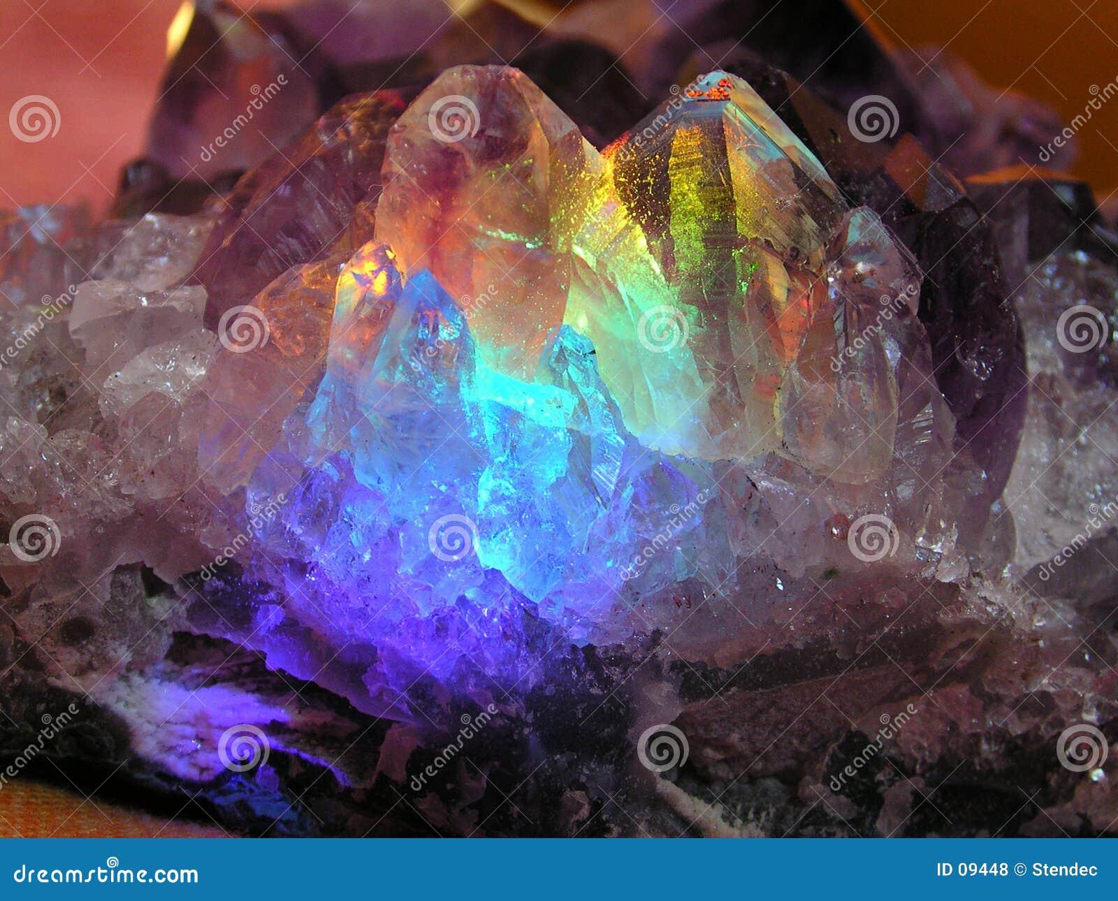 Um cristal mágico