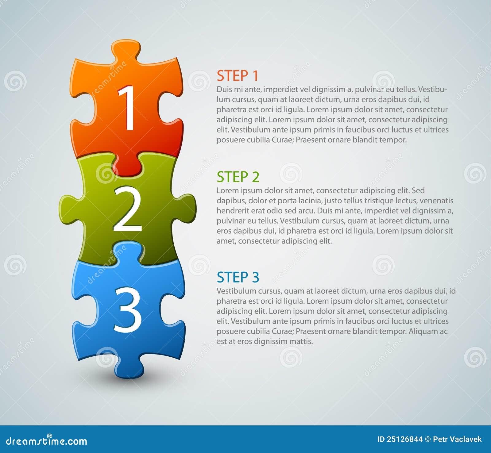 Um dois três - partes do enigma do vetor com números