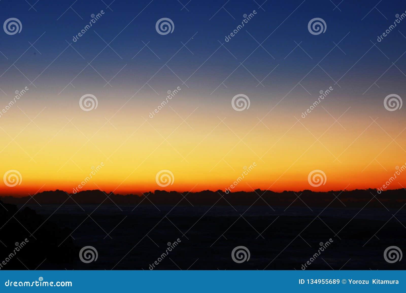 Um espetáculo fantástico o nascer do sol