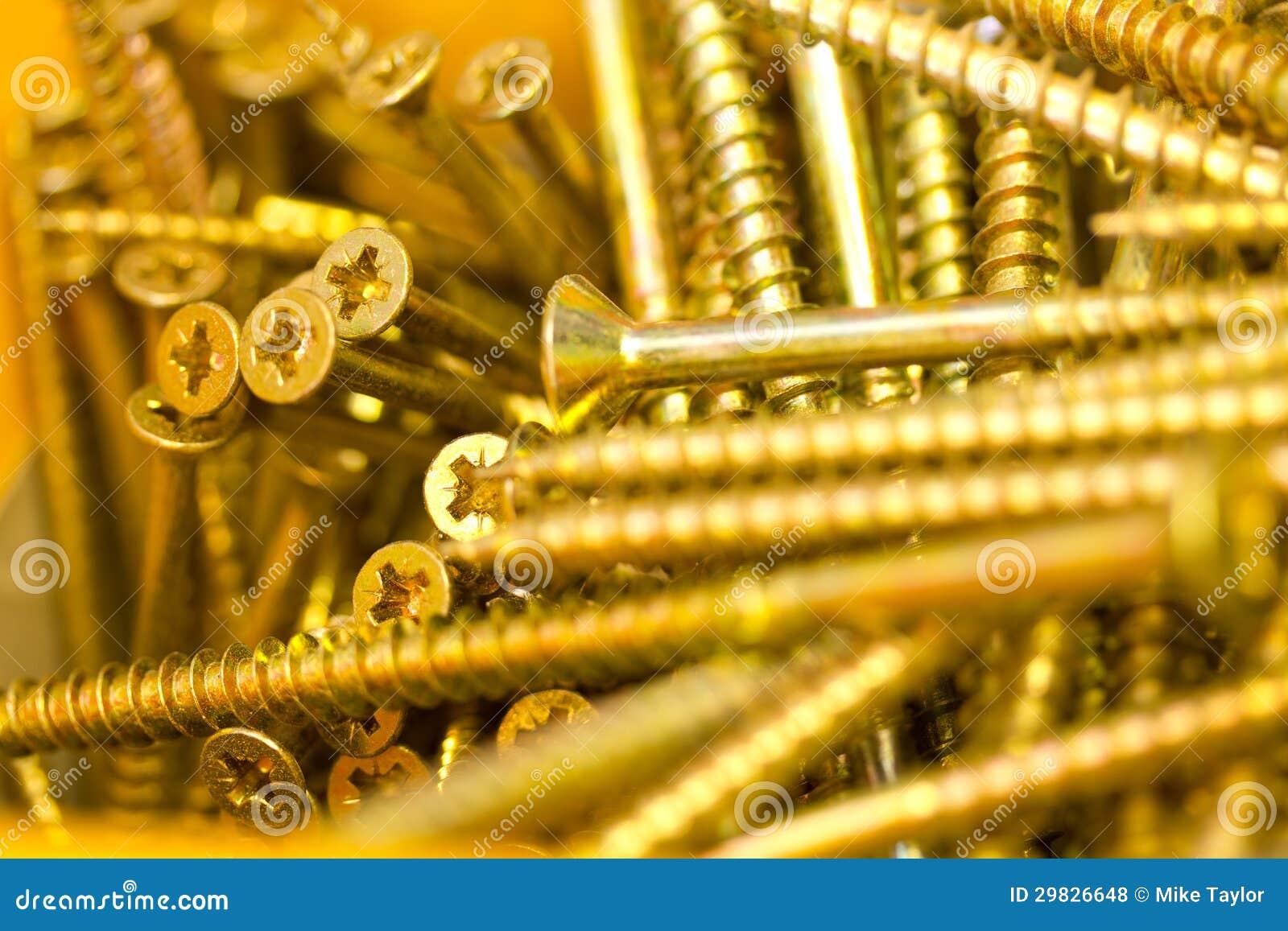 Parafusos do ouro