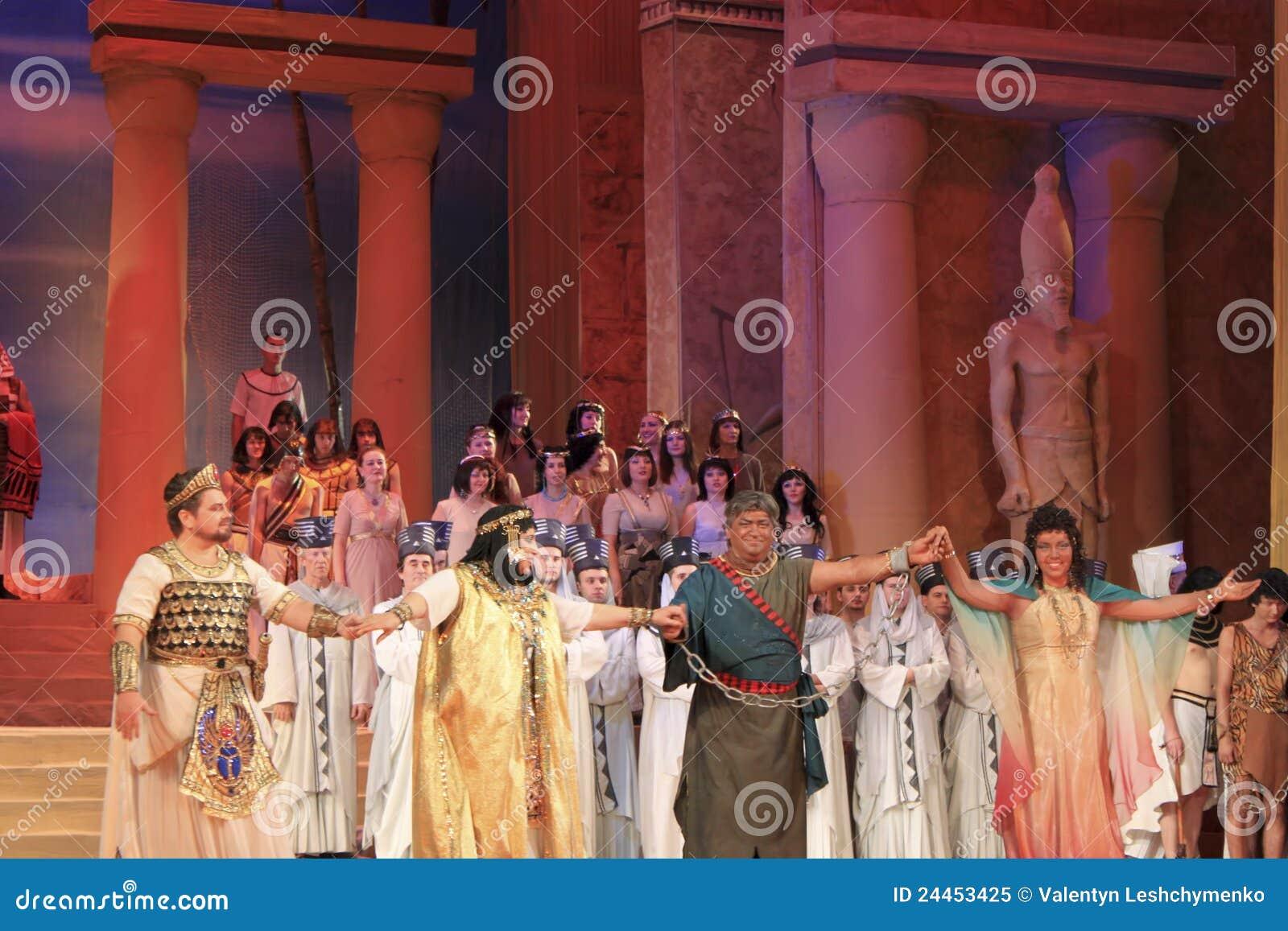 Um final da ópera Aida