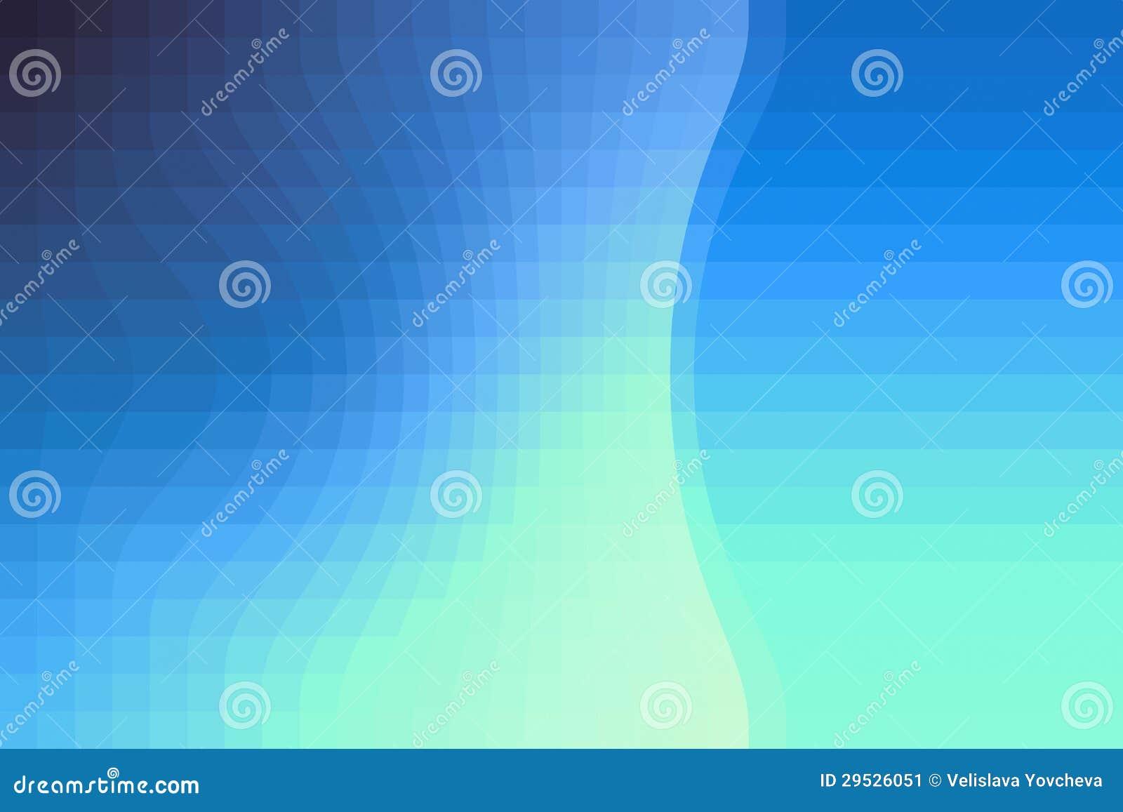 Um fundo contemporâneo com cor azul graduada