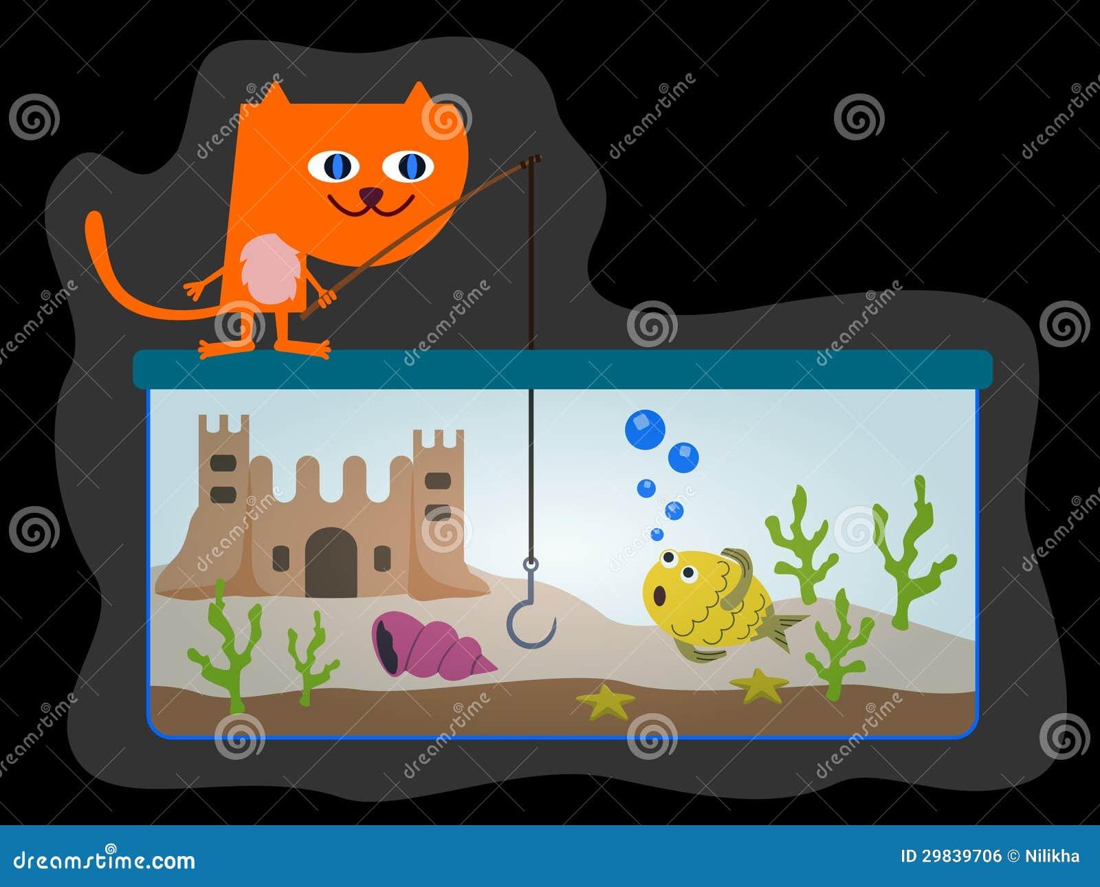 Pesca do gato