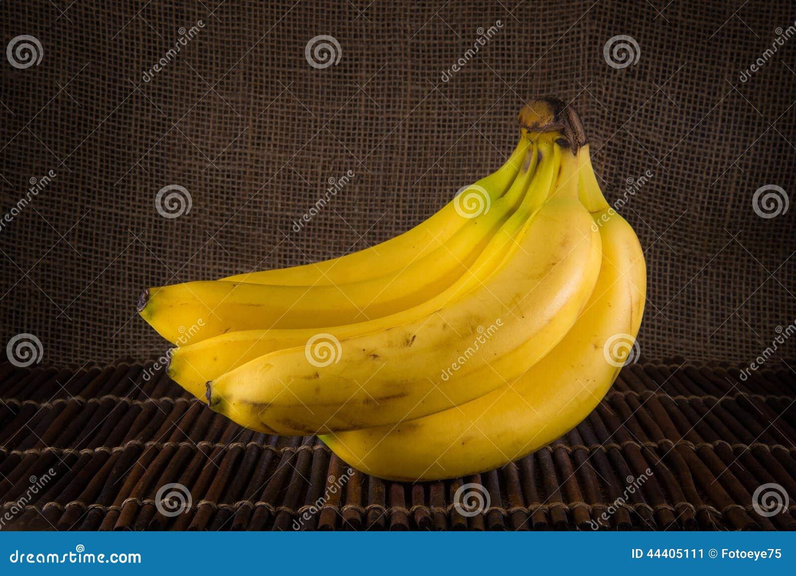 Um grupo das bananas