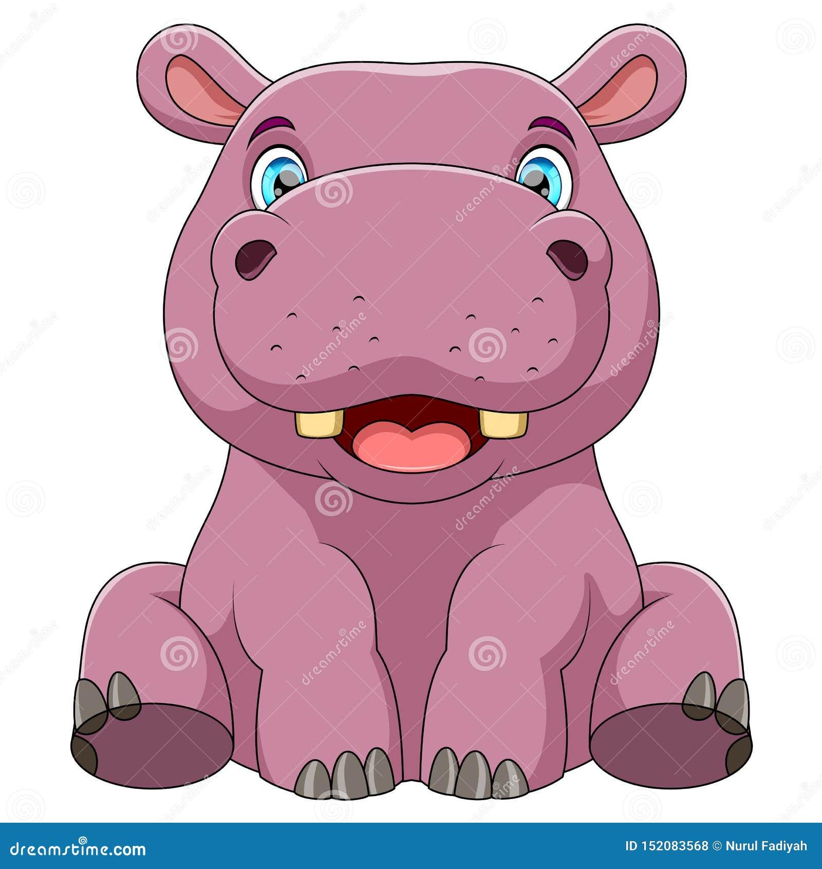 Um hipop?tamo do beb?