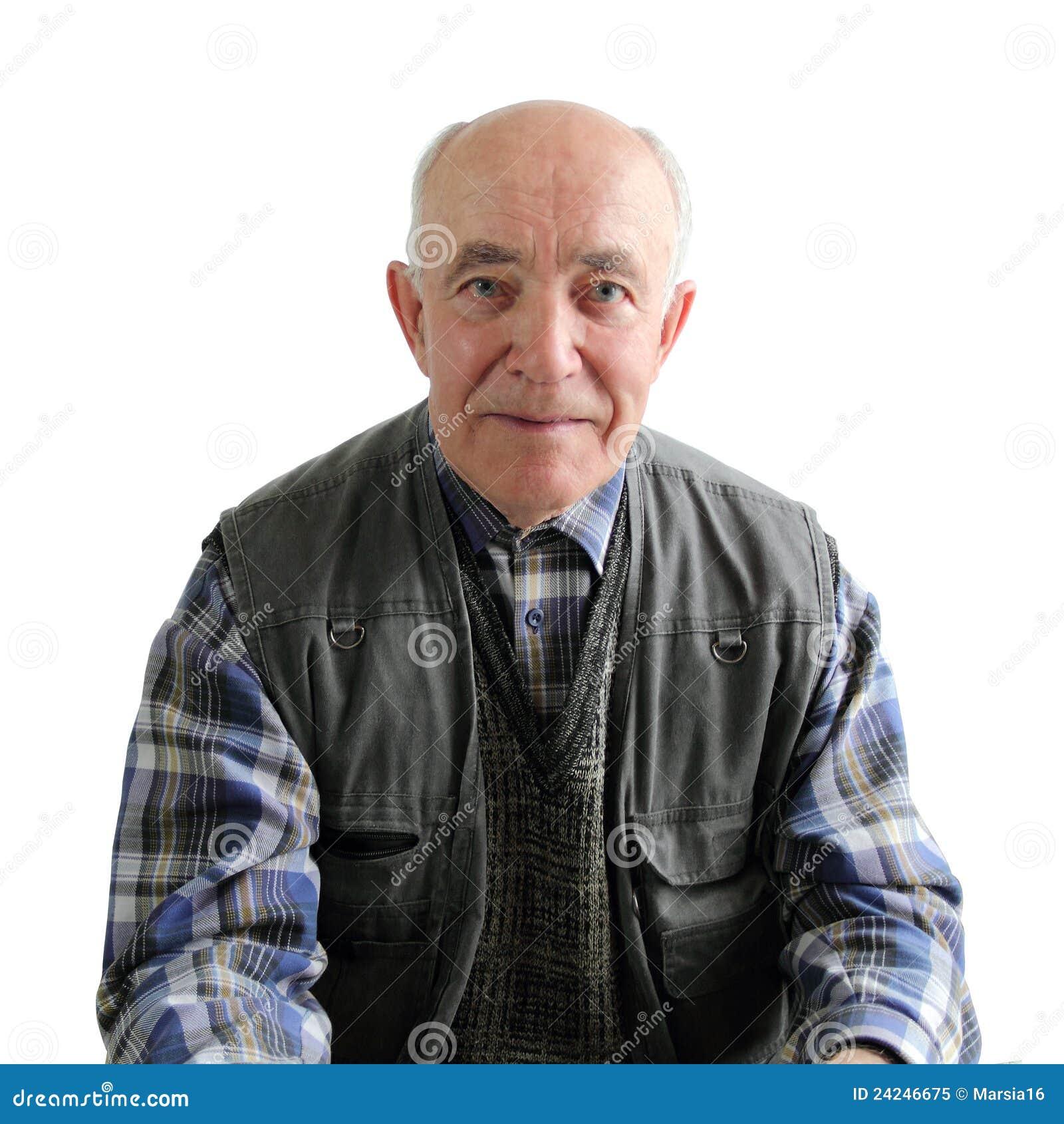 Um homem idoso