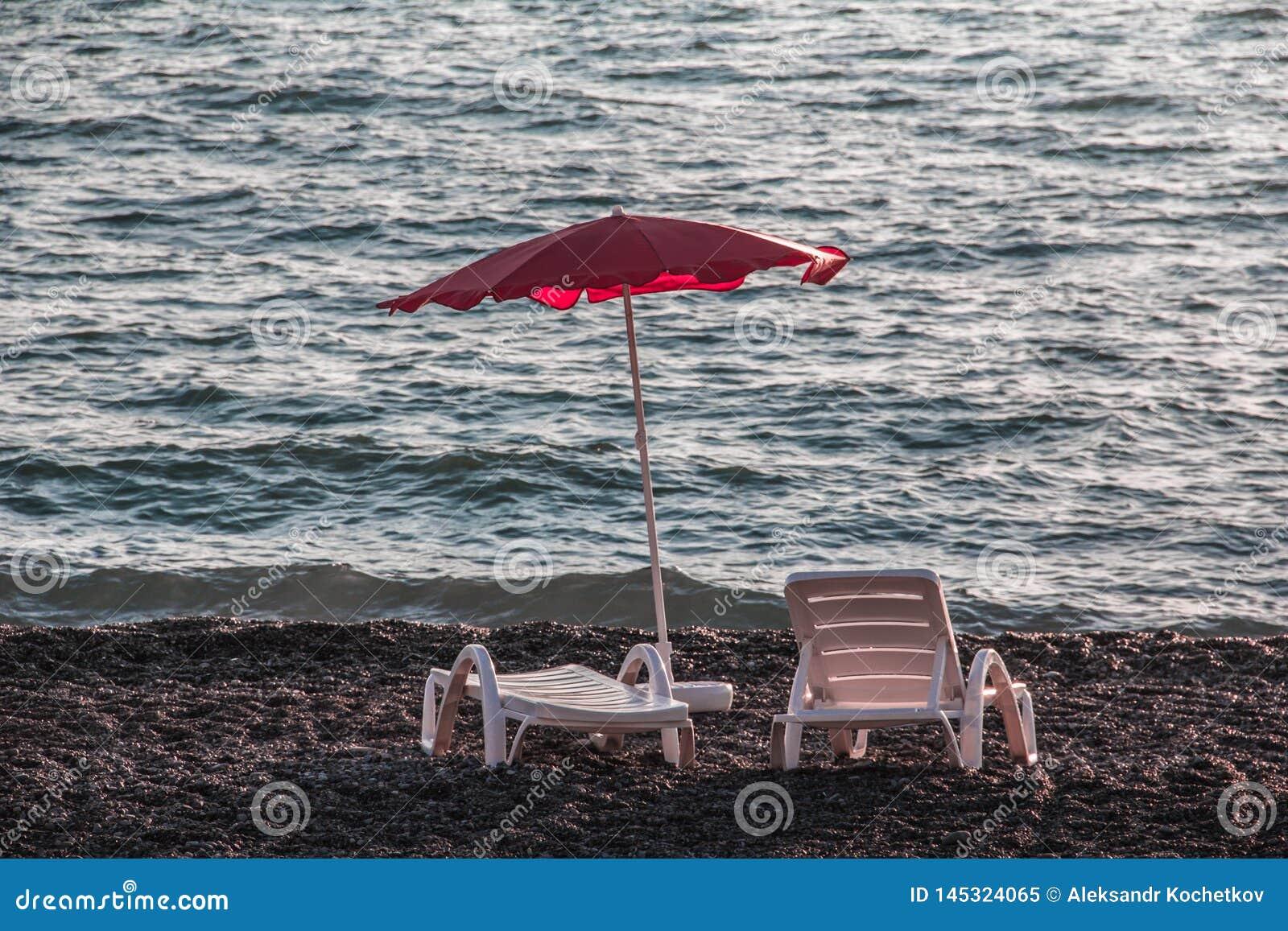 Um lugar pelo mar a relaxar