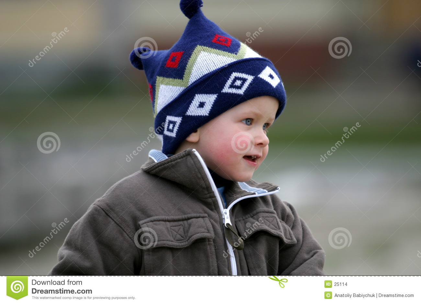 Um menino