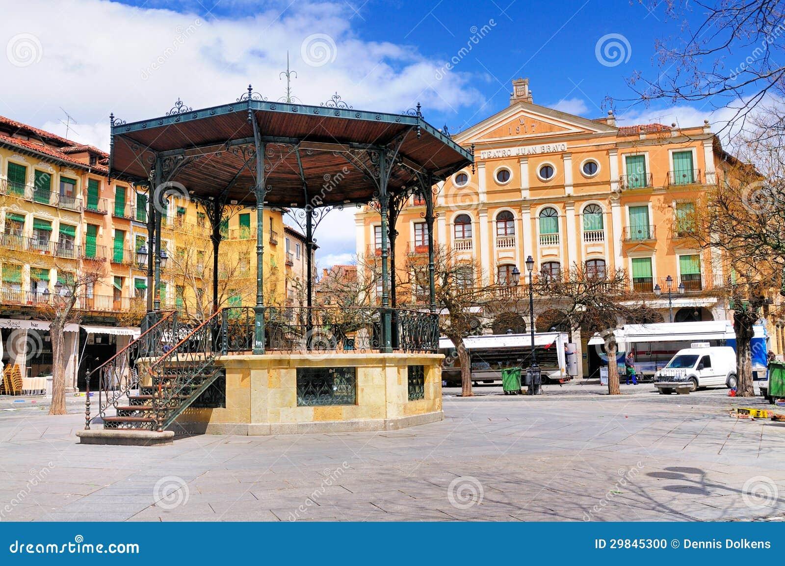 Miradouro no Mayor da plaza, Segovia, Spain