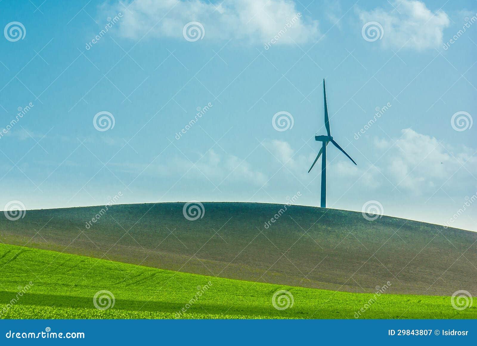 Um moinho de vento só